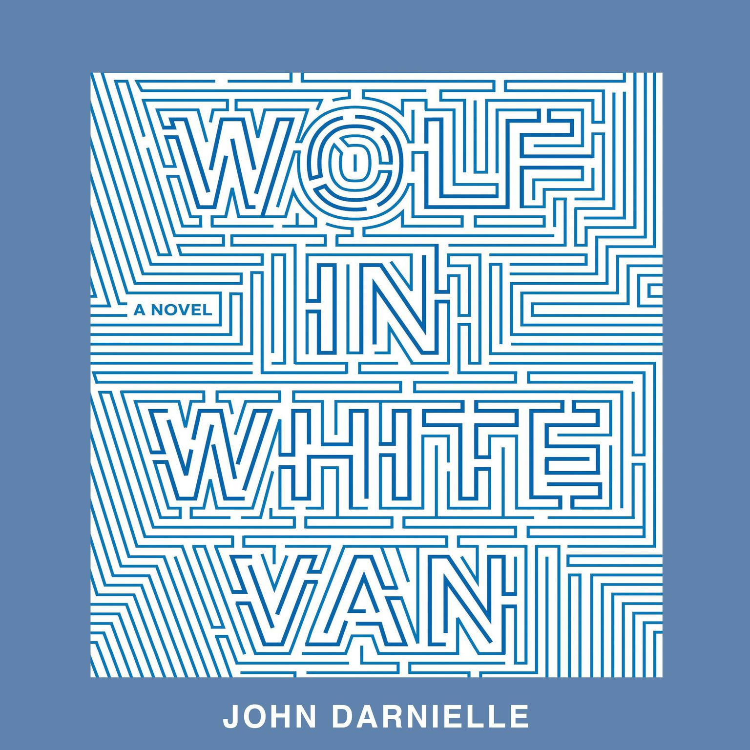 Printable Wolf In White Van Audiobook Cover Art