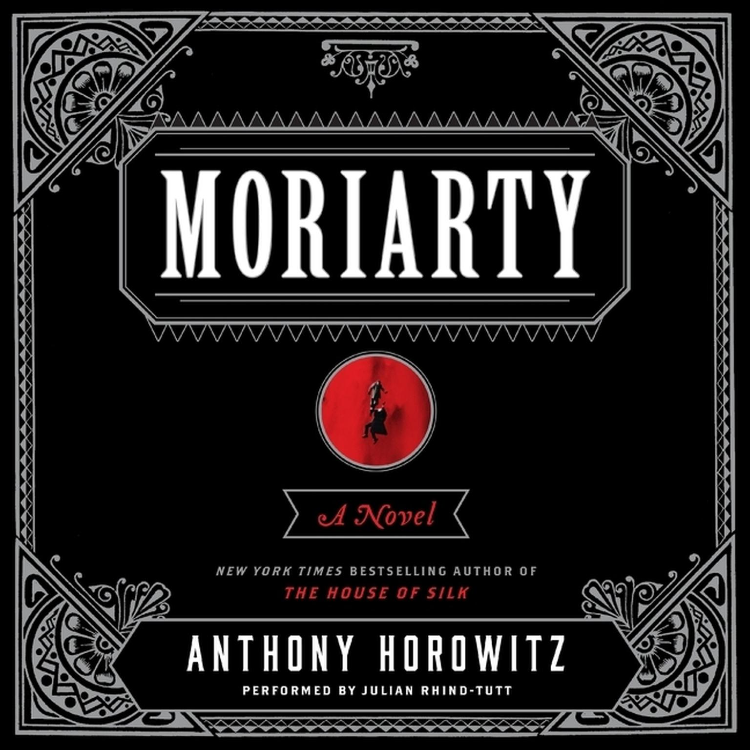 Printable Moriarty Audiobook Cover Art