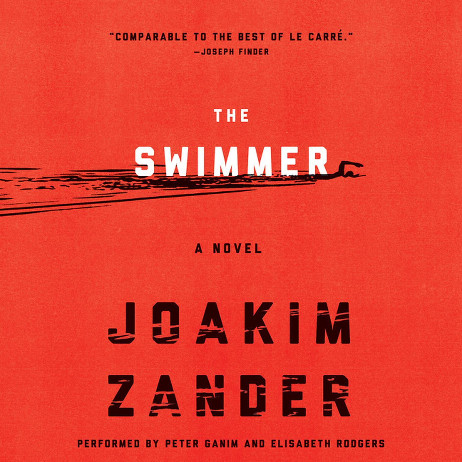 Printable The Swimmer: A Novel Audiobook Cover Art
