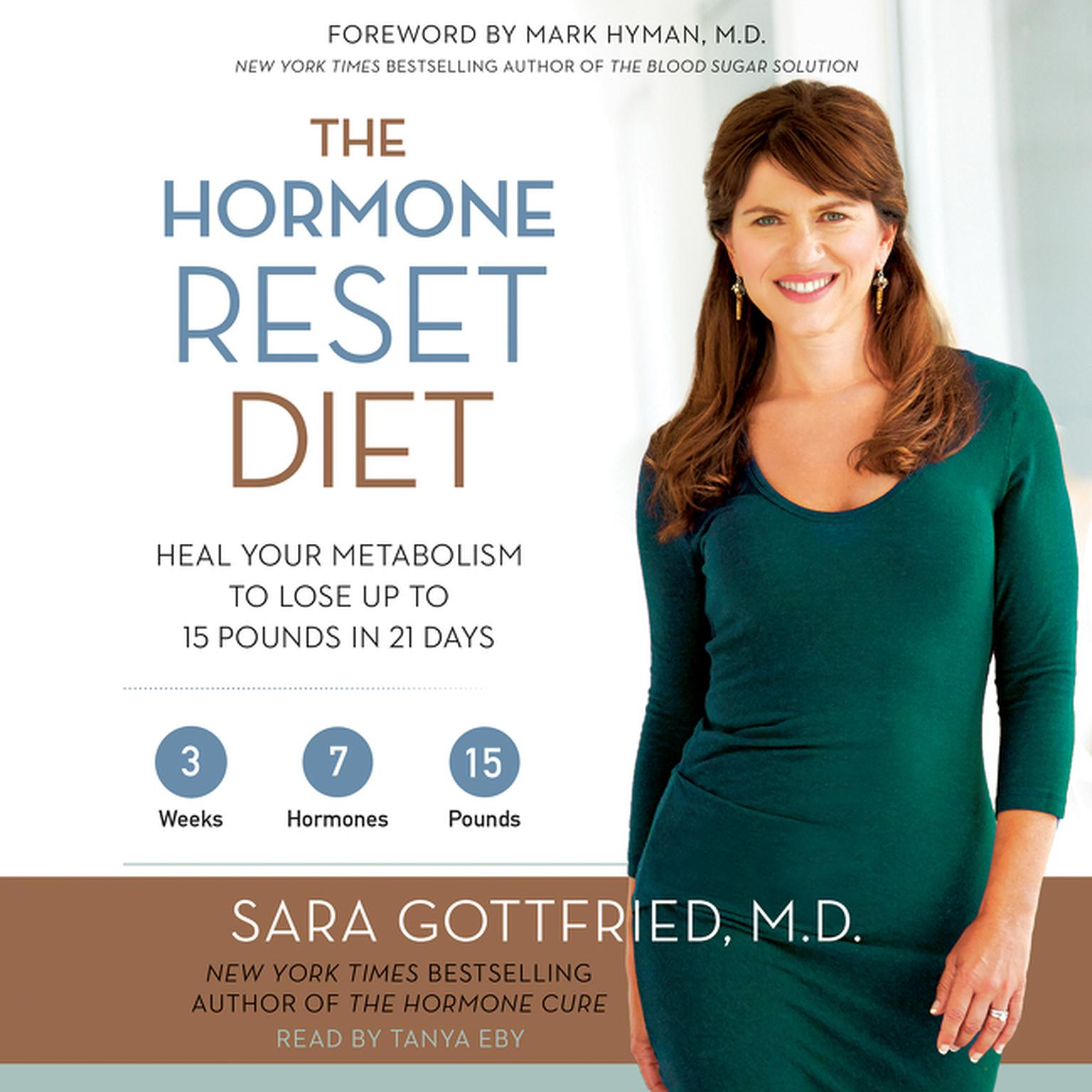 Printable The Hormone Reset Diet: Heal Your Metabolism to Lose Up to 15 Pounds in 21 Days Audiobook Cover Art