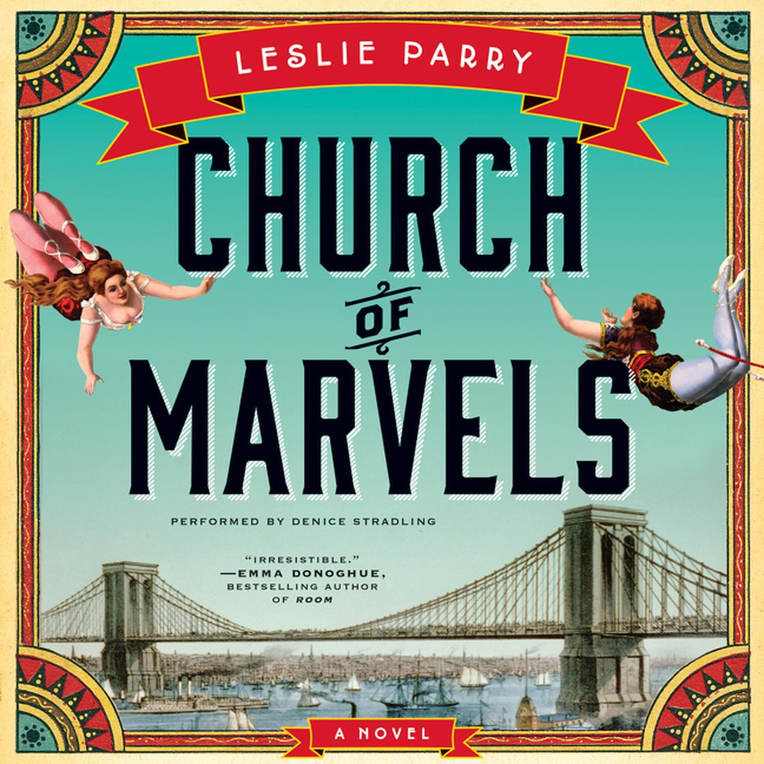 Printable Church of Marvels: A Novel Audiobook Cover Art