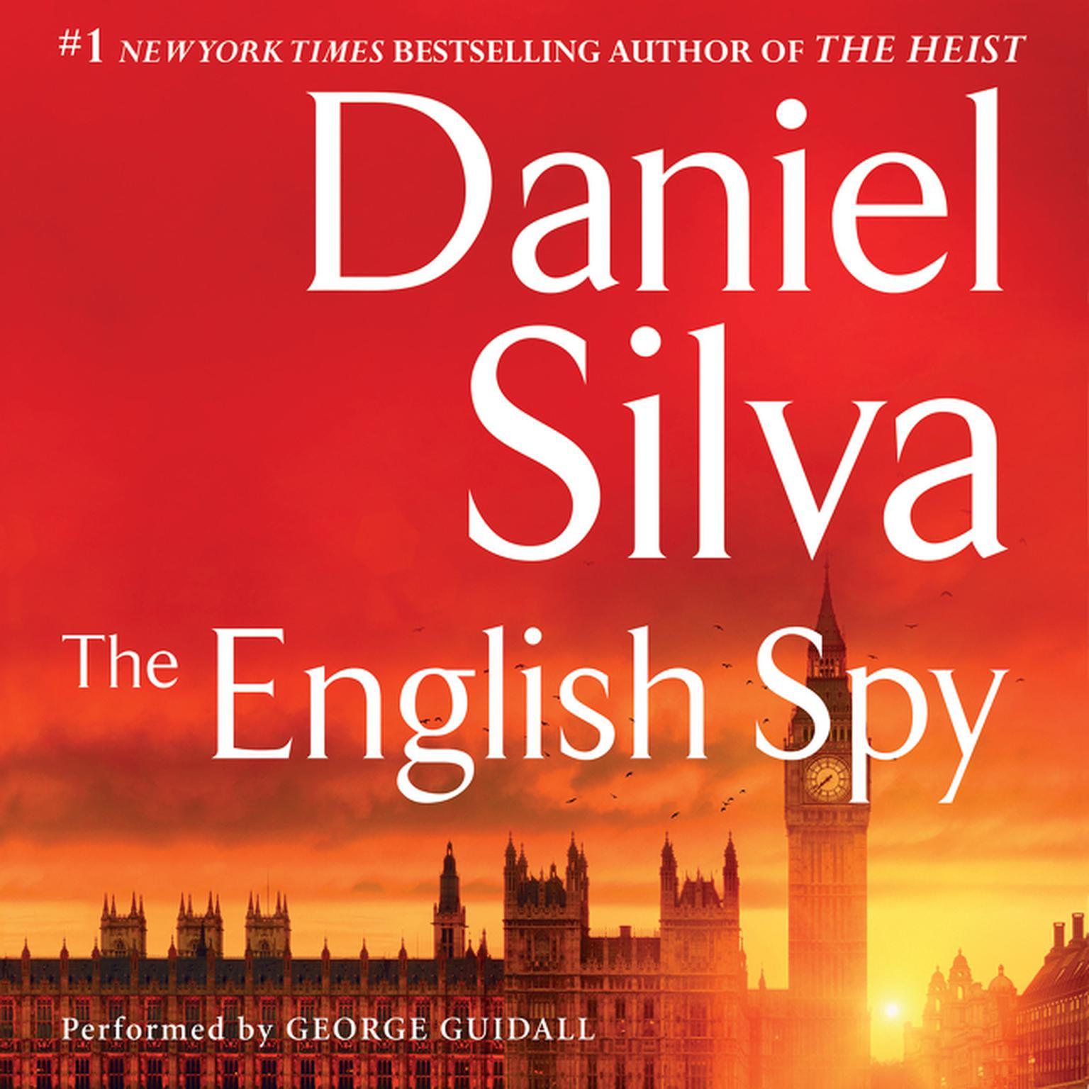Printable The English Spy Audiobook Cover Art