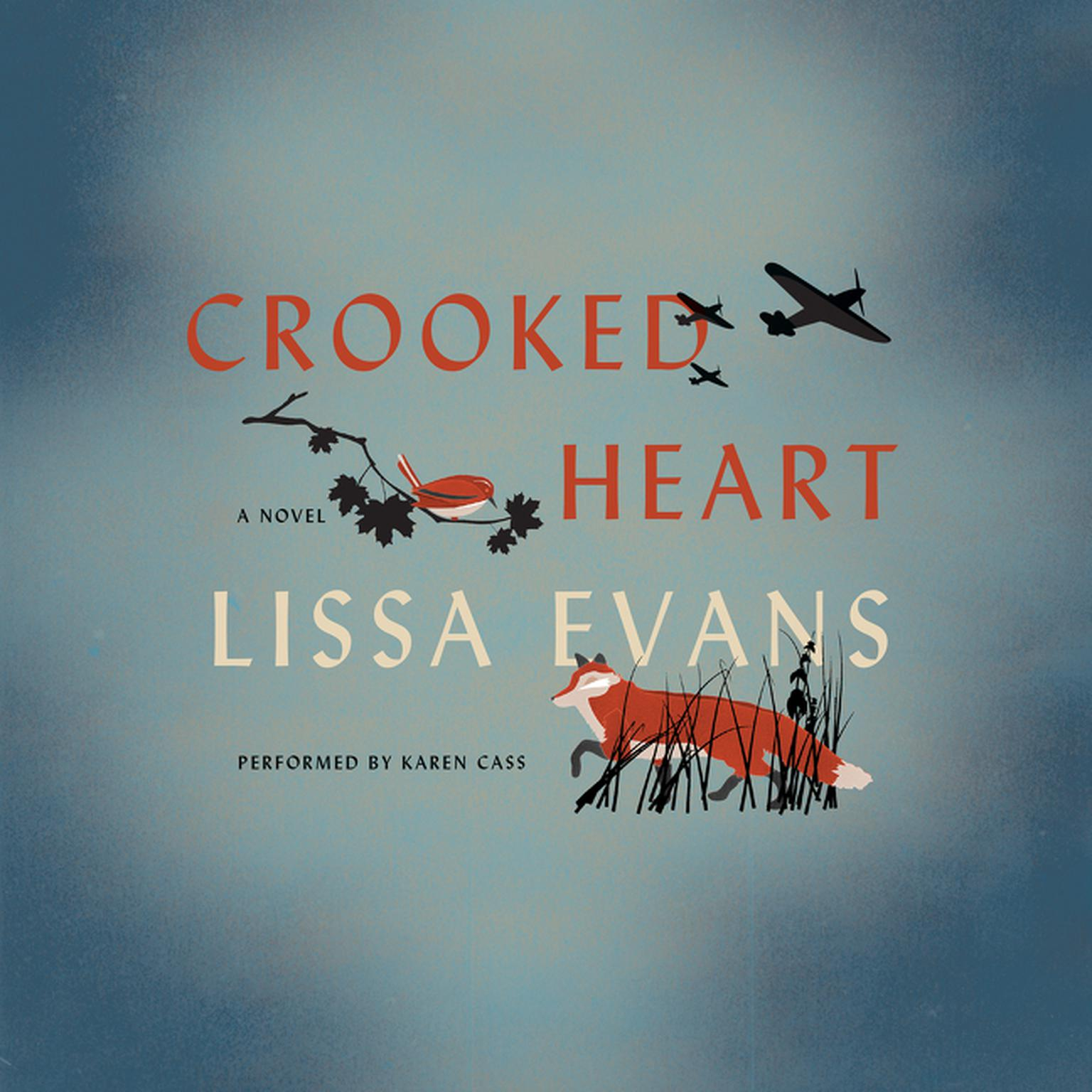 Printable Crooked Heart: A Novel Audiobook Cover Art