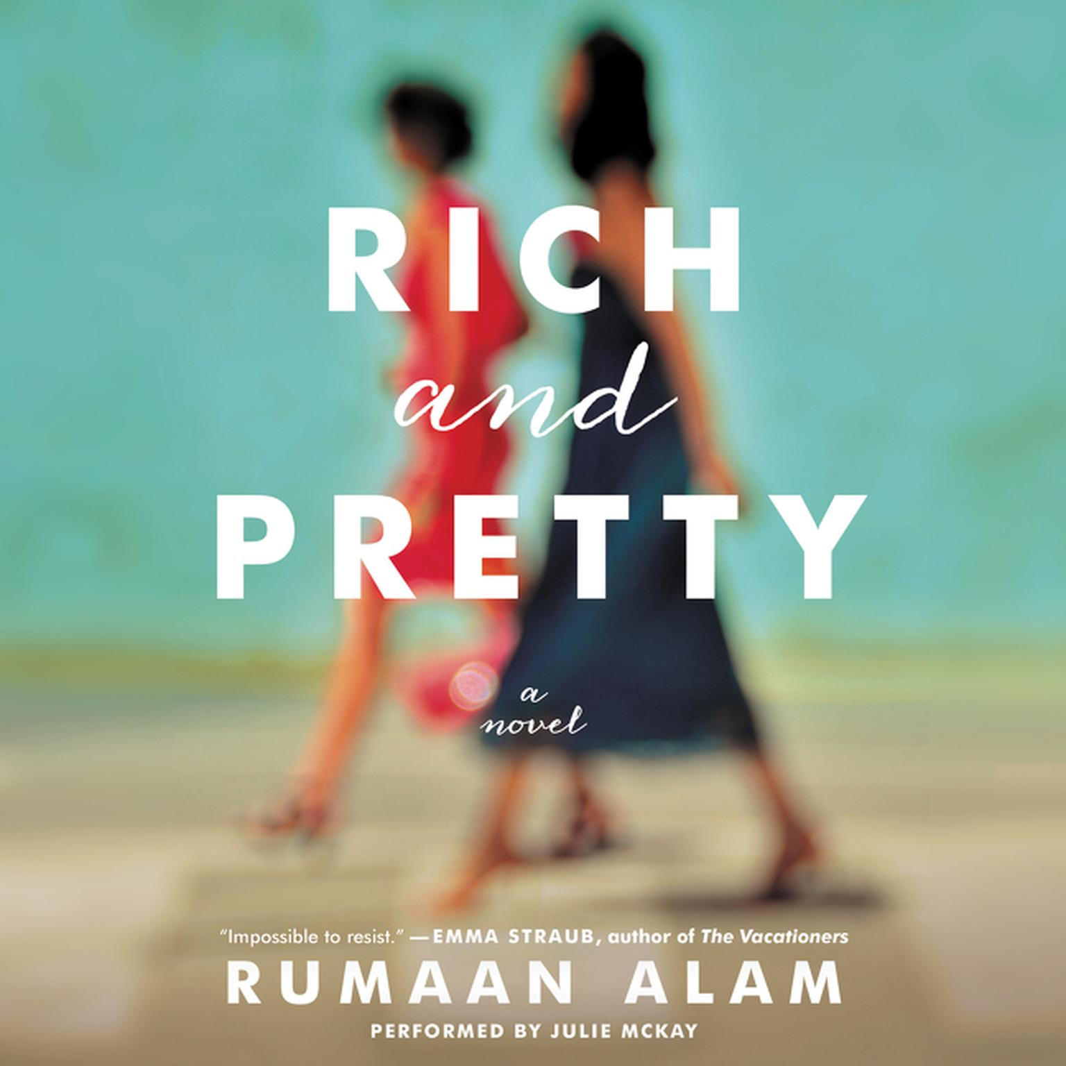 Printable Rich and Pretty Audiobook Cover Art
