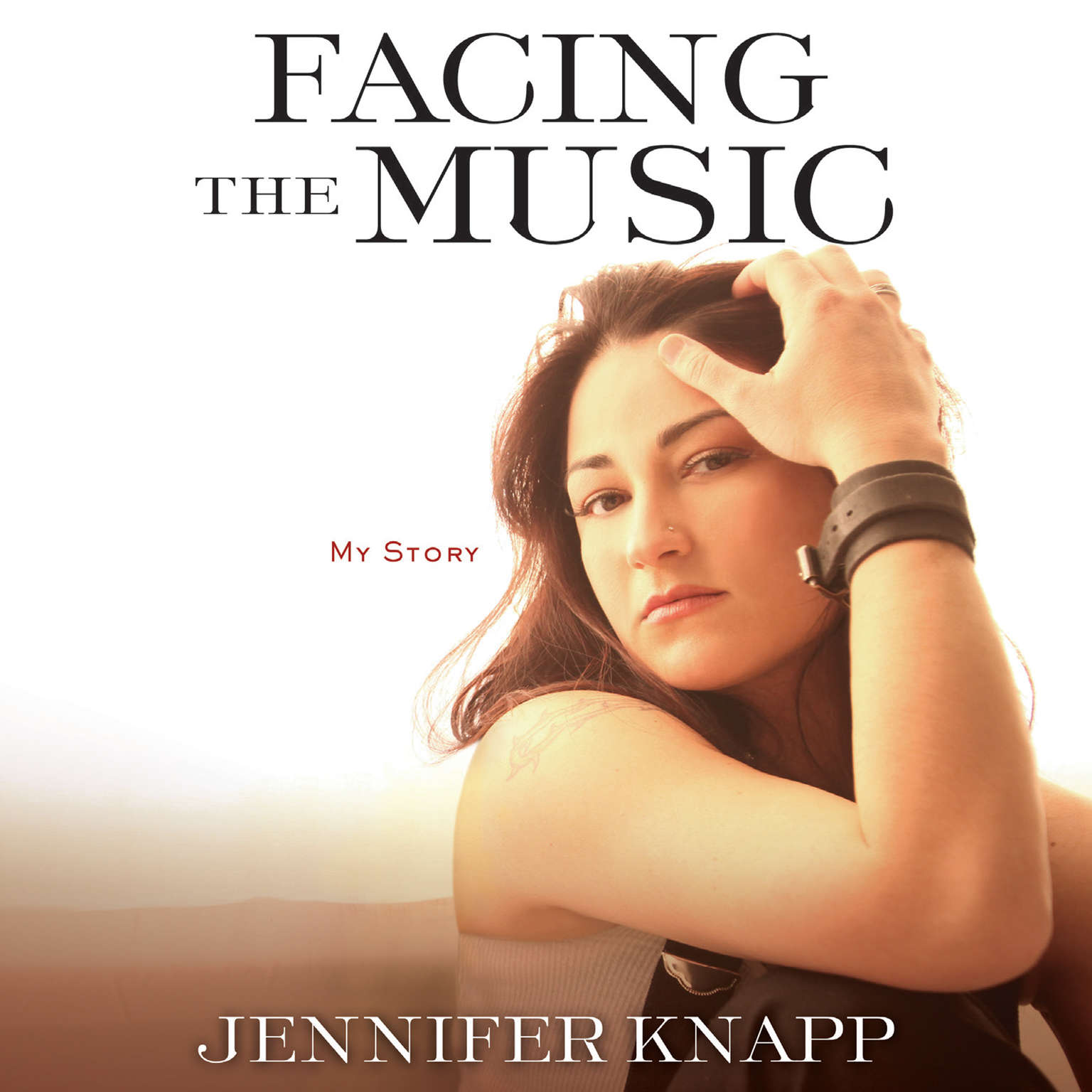 Printable Facing the Music: My Story Audiobook Cover Art