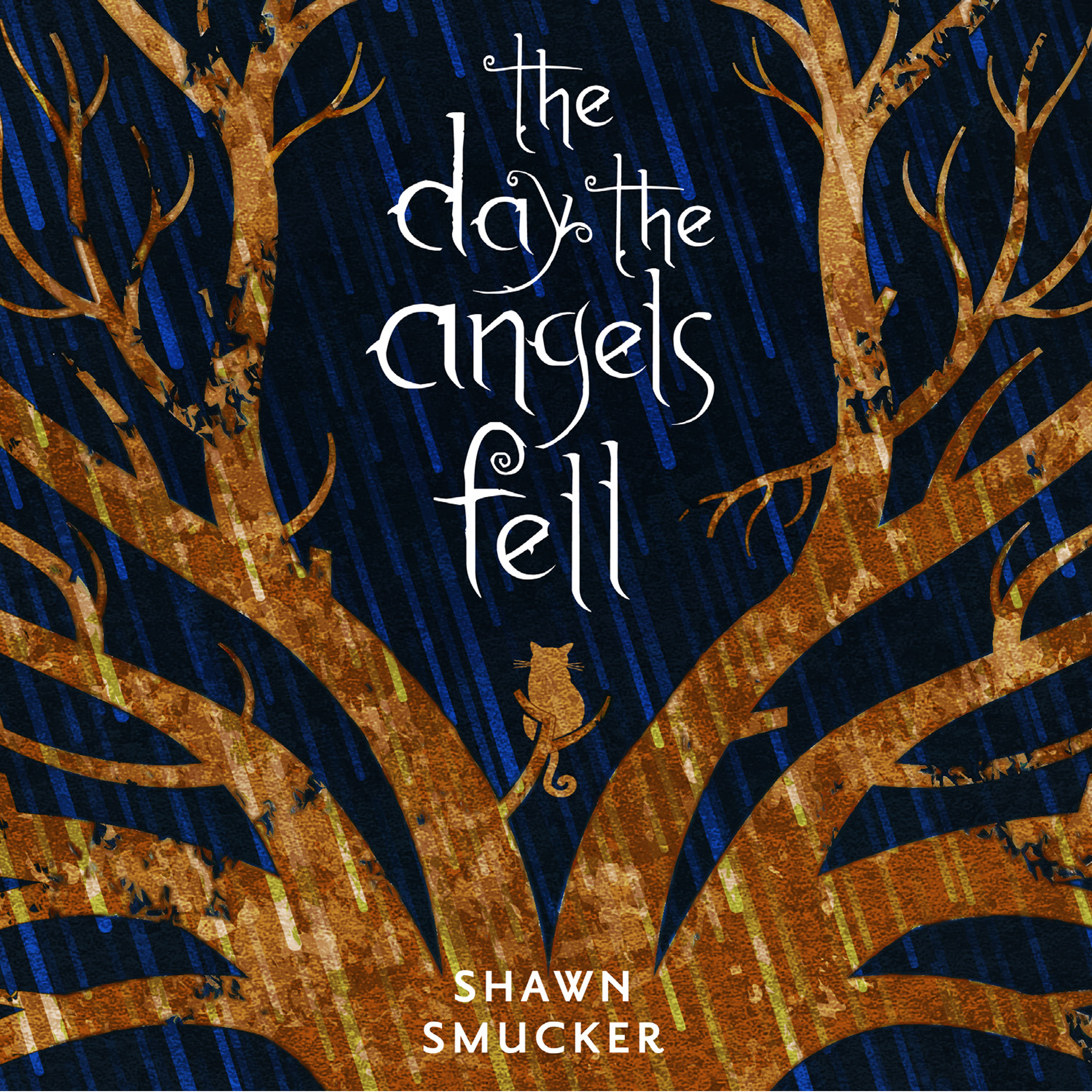 Printable The Day the Angels Fell Audiobook Cover Art