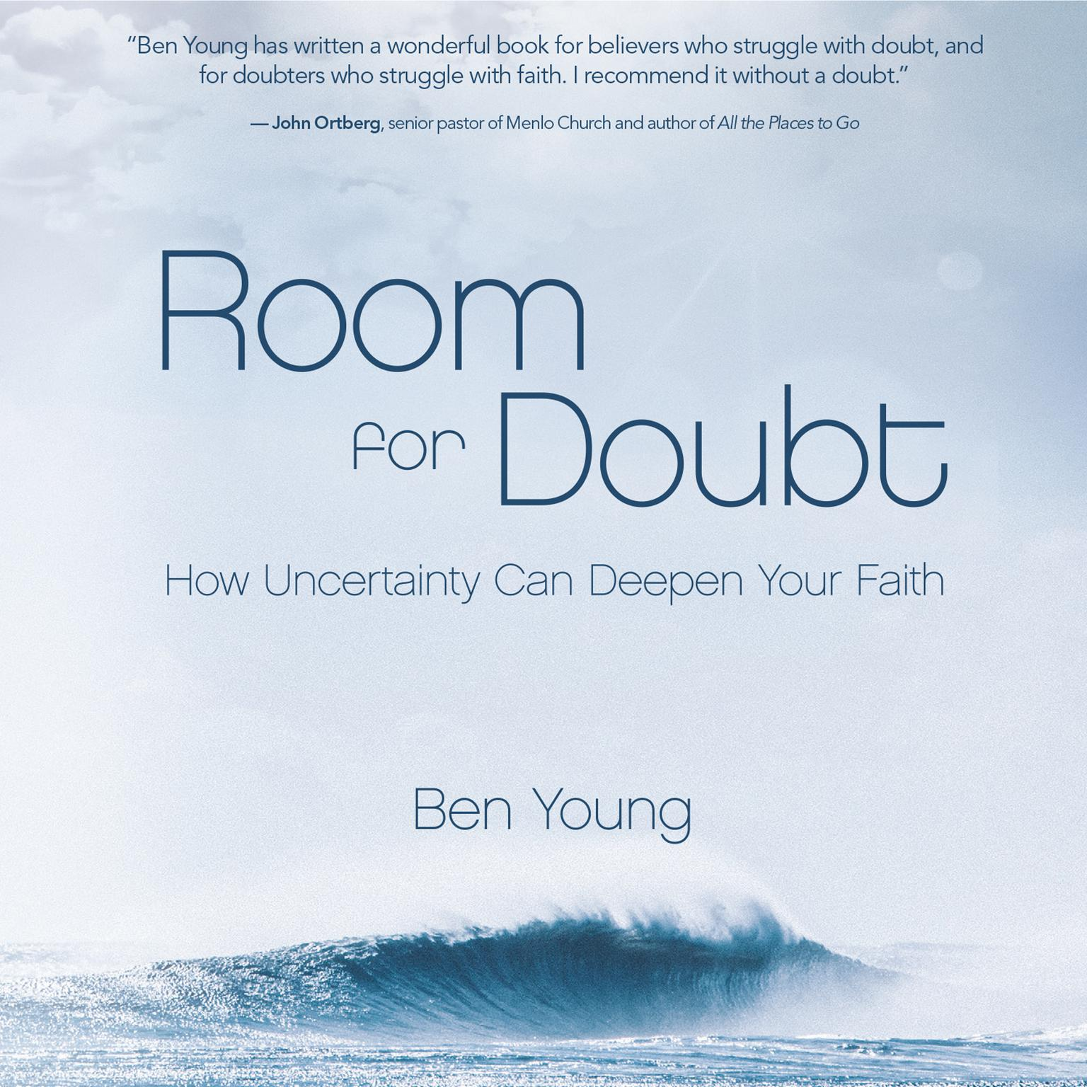Printable Room for Doubt: How Uncertainty Can Deepen Your Faith Audiobook Cover Art