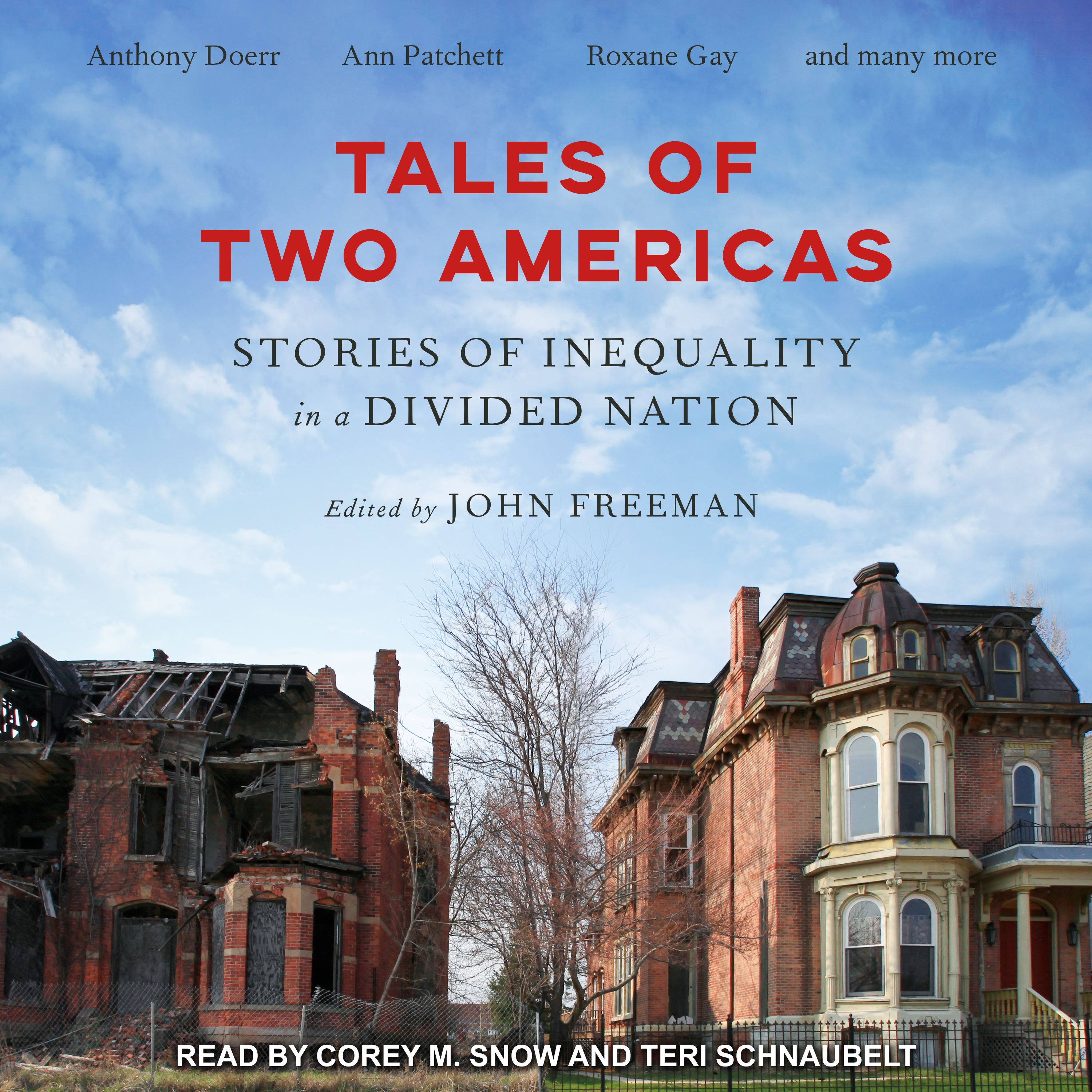 Printable Tales of Two Americas: Stories of Inequality in a Divided Nation Audiobook Cover Art