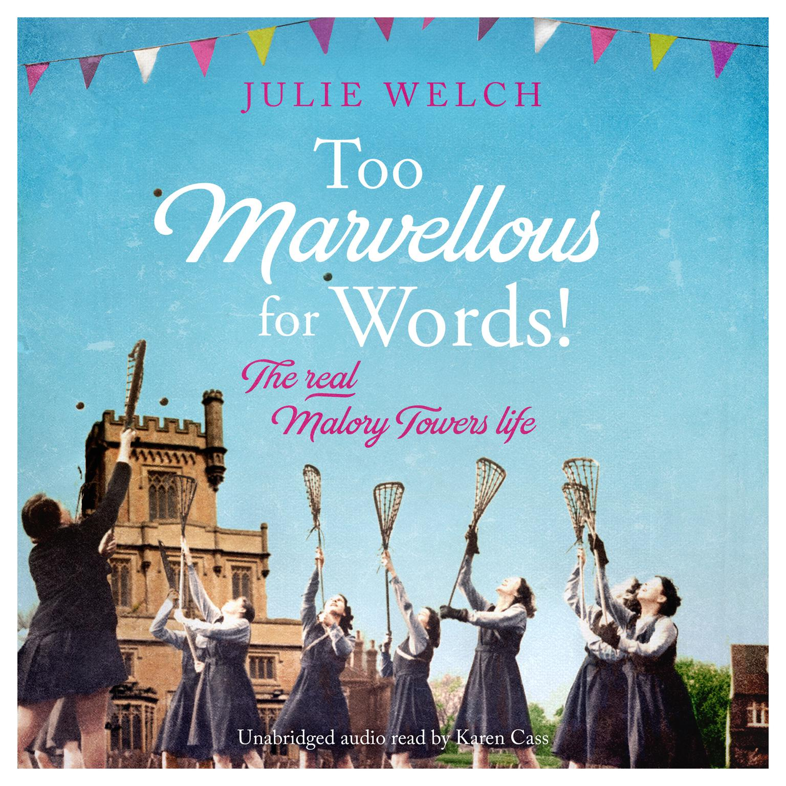 Printable Too Marvellous For Words Audiobook Cover Art