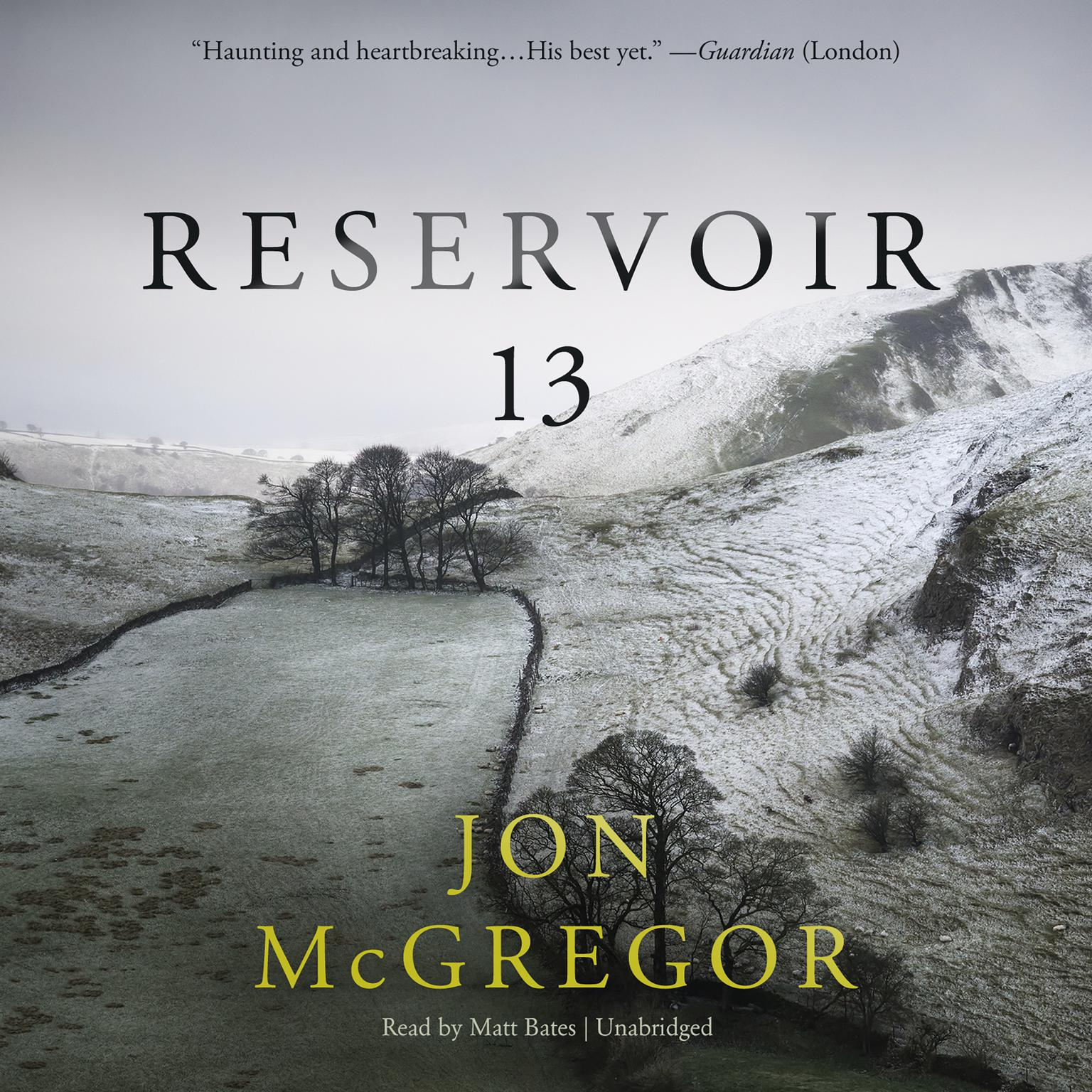 Printable Reservoir 13 Audiobook Cover Art
