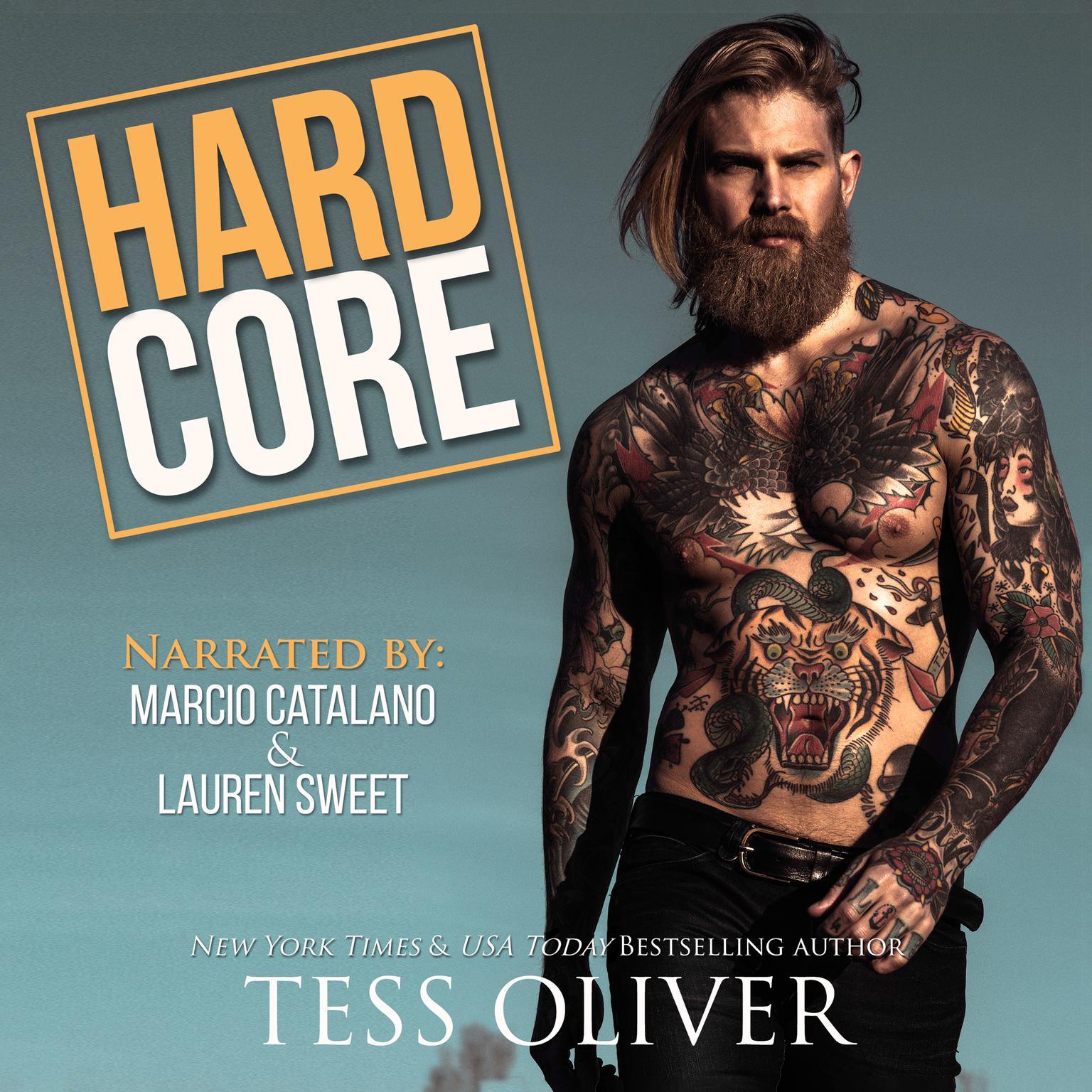 Printable Hard Core Audiobook Cover Art