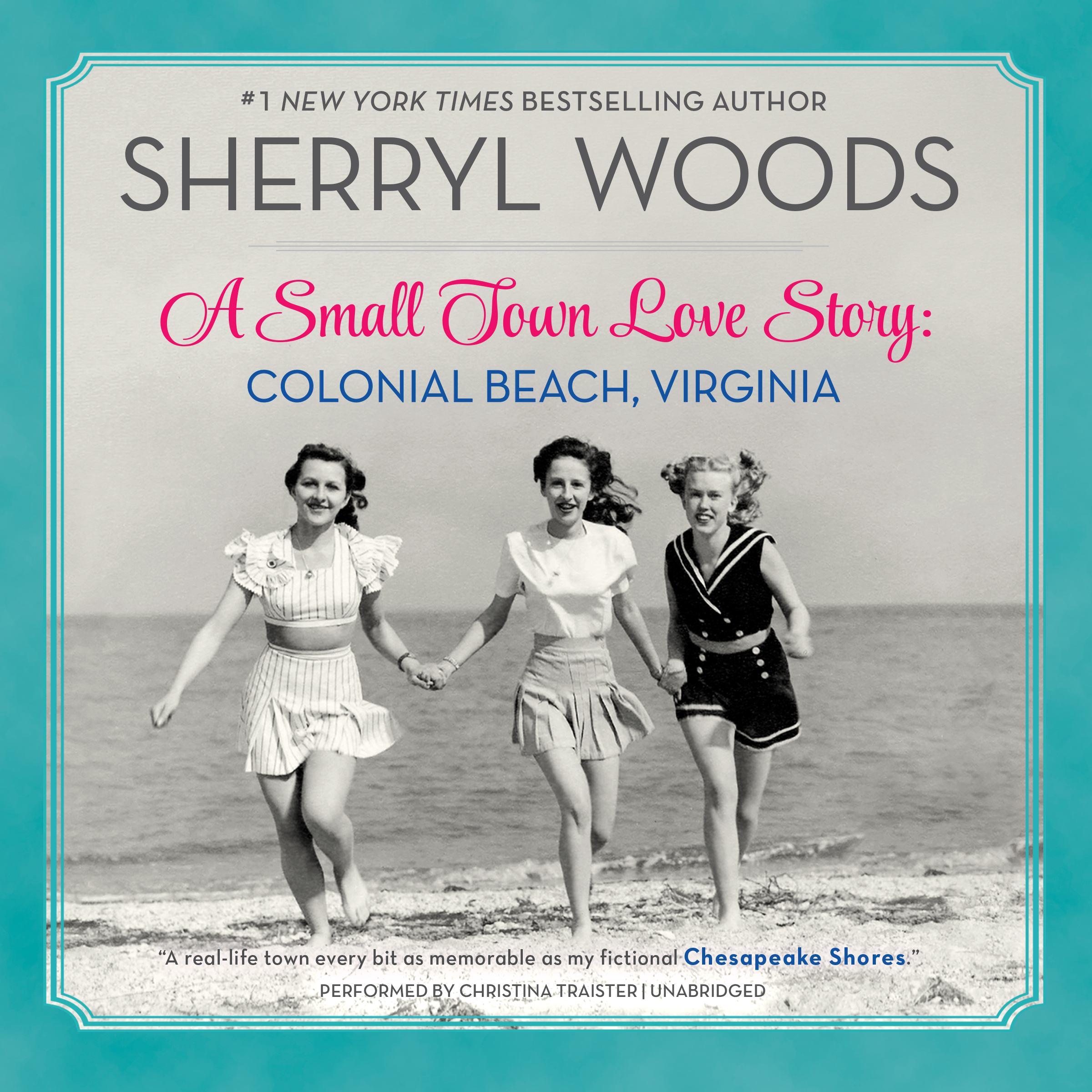 Printable A Small Town Love Story: Colonial Beach, Virginia: Colonial Beach, Virginia Audiobook Cover Art