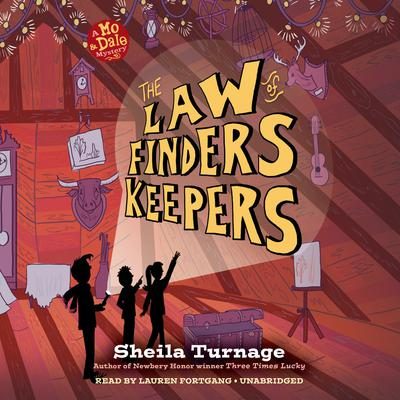 The Law of Finders Keepers Audiobook, by Sheila Turnage