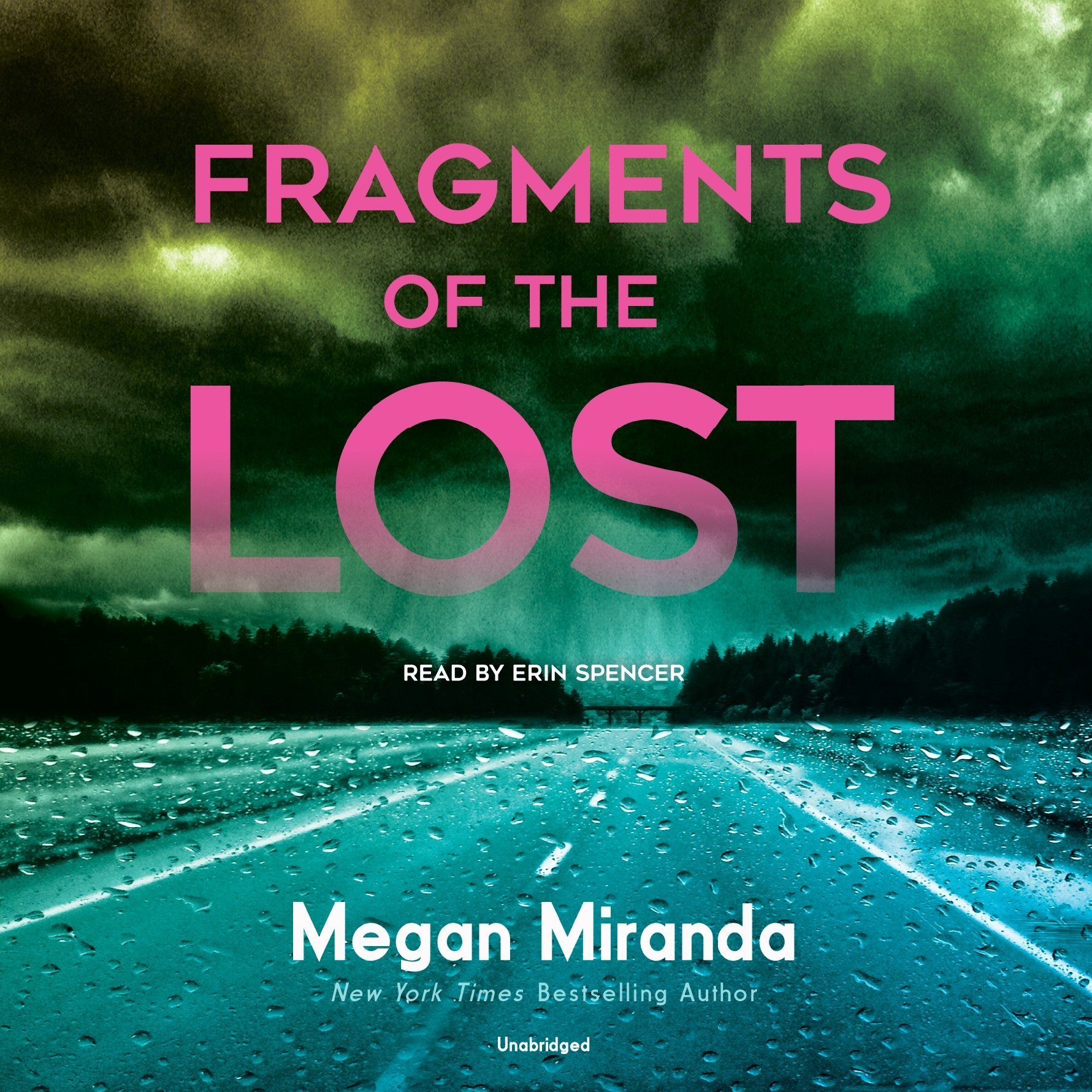 Printable Fragments of the Lost Audiobook Cover Art
