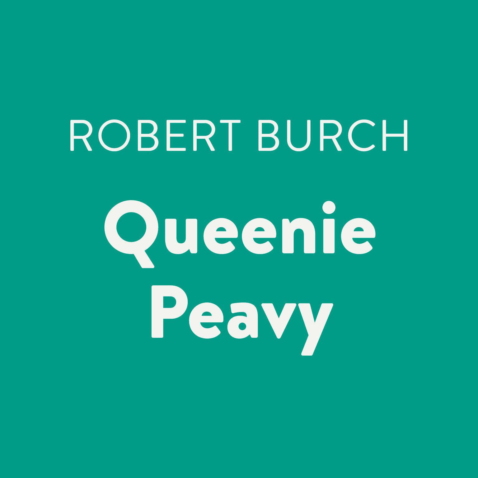 Printable Queenie Peavy Audiobook Cover Art