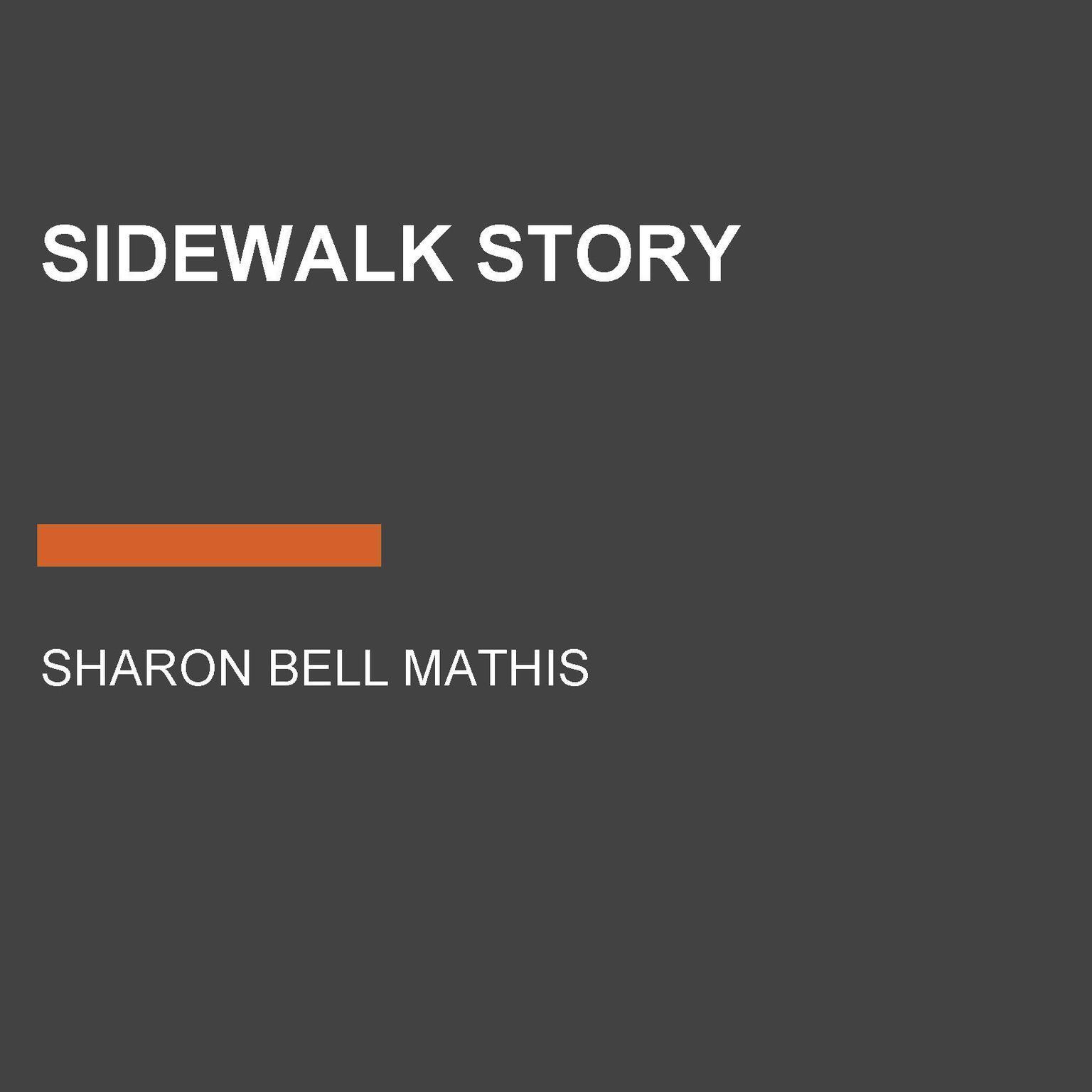 Printable Sidewalk Story Audiobook Cover Art