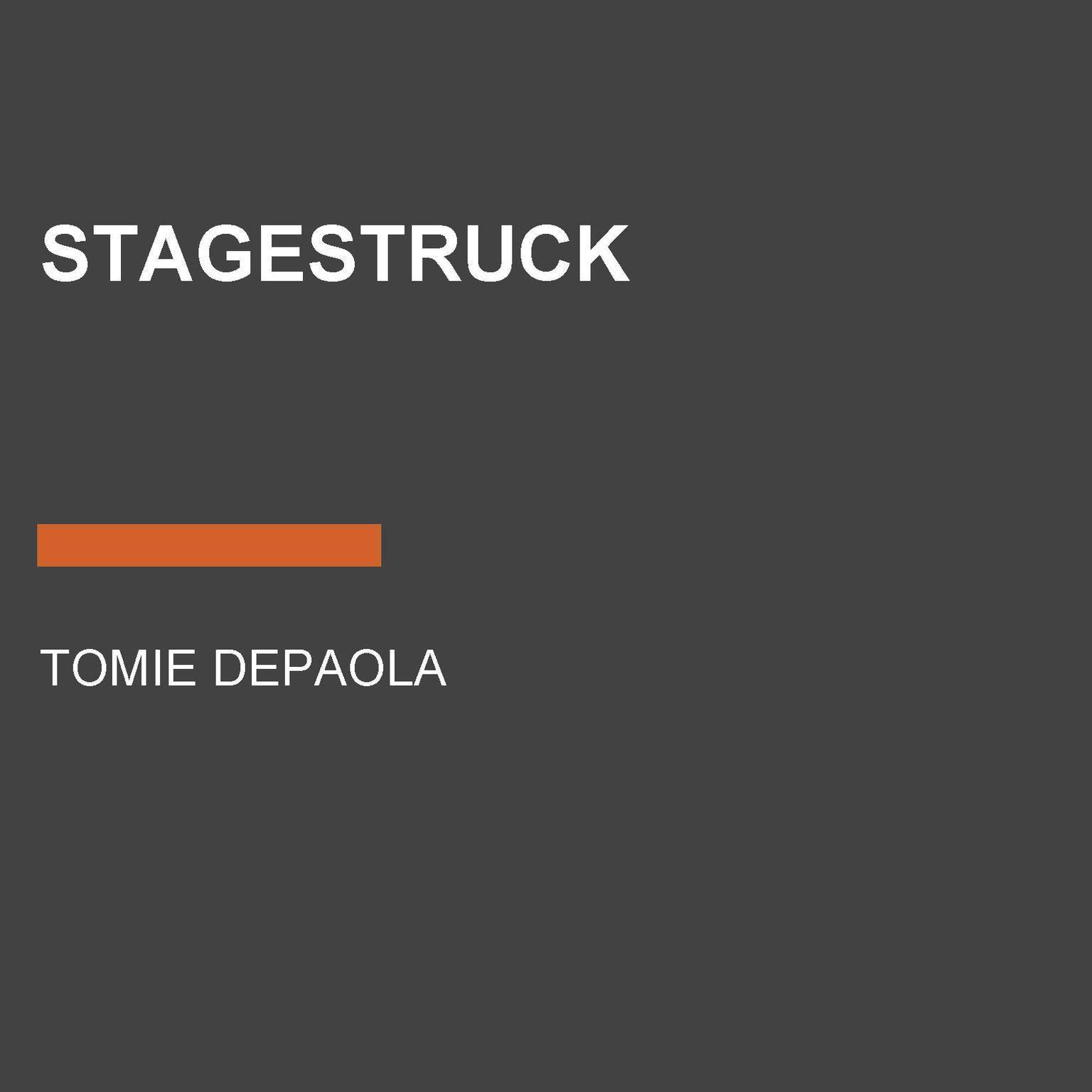 Printable Stagestruck Audiobook Cover Art