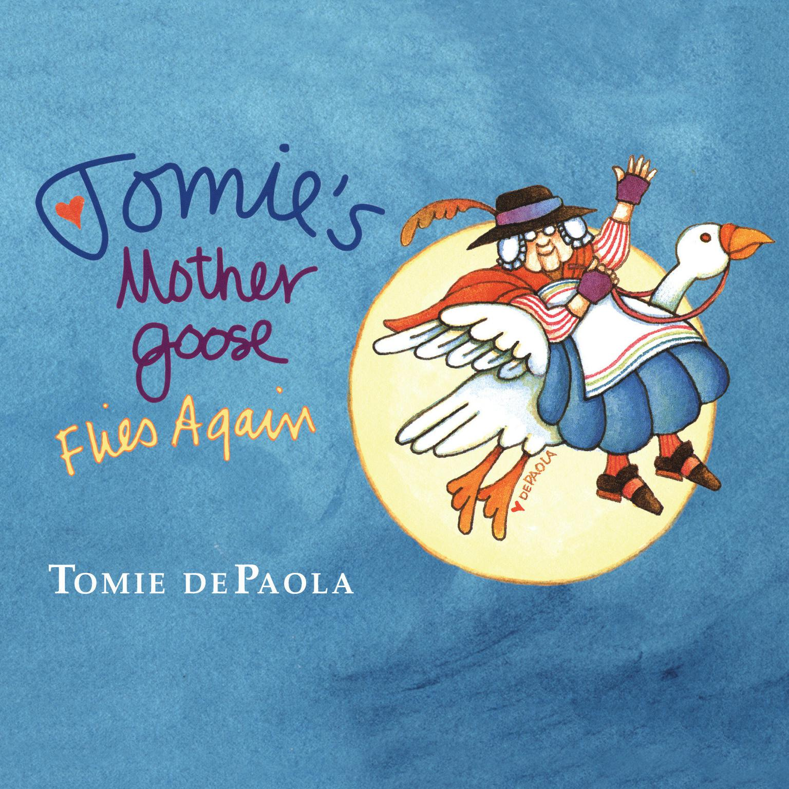 Printable Tomie dePaola's Mother Goose Audiobook Cover Art