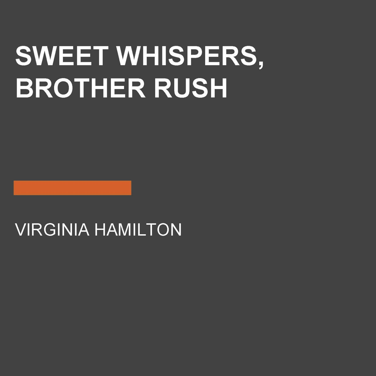 Printable Sweet Whispers, Brother Rush Audiobook Cover Art
