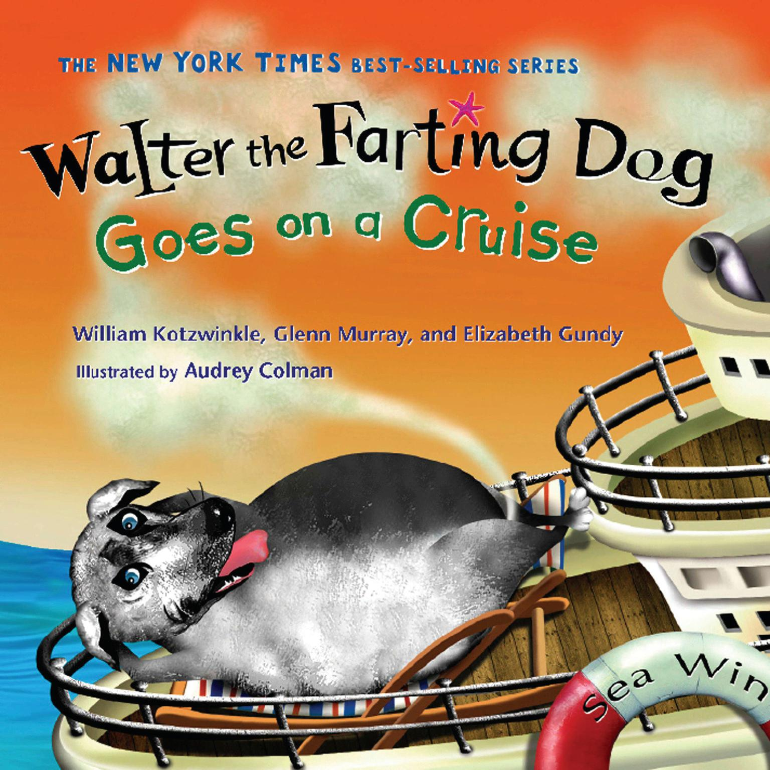 Printable Walter the Farting Dog Goes on a Cruise Audiobook Cover Art