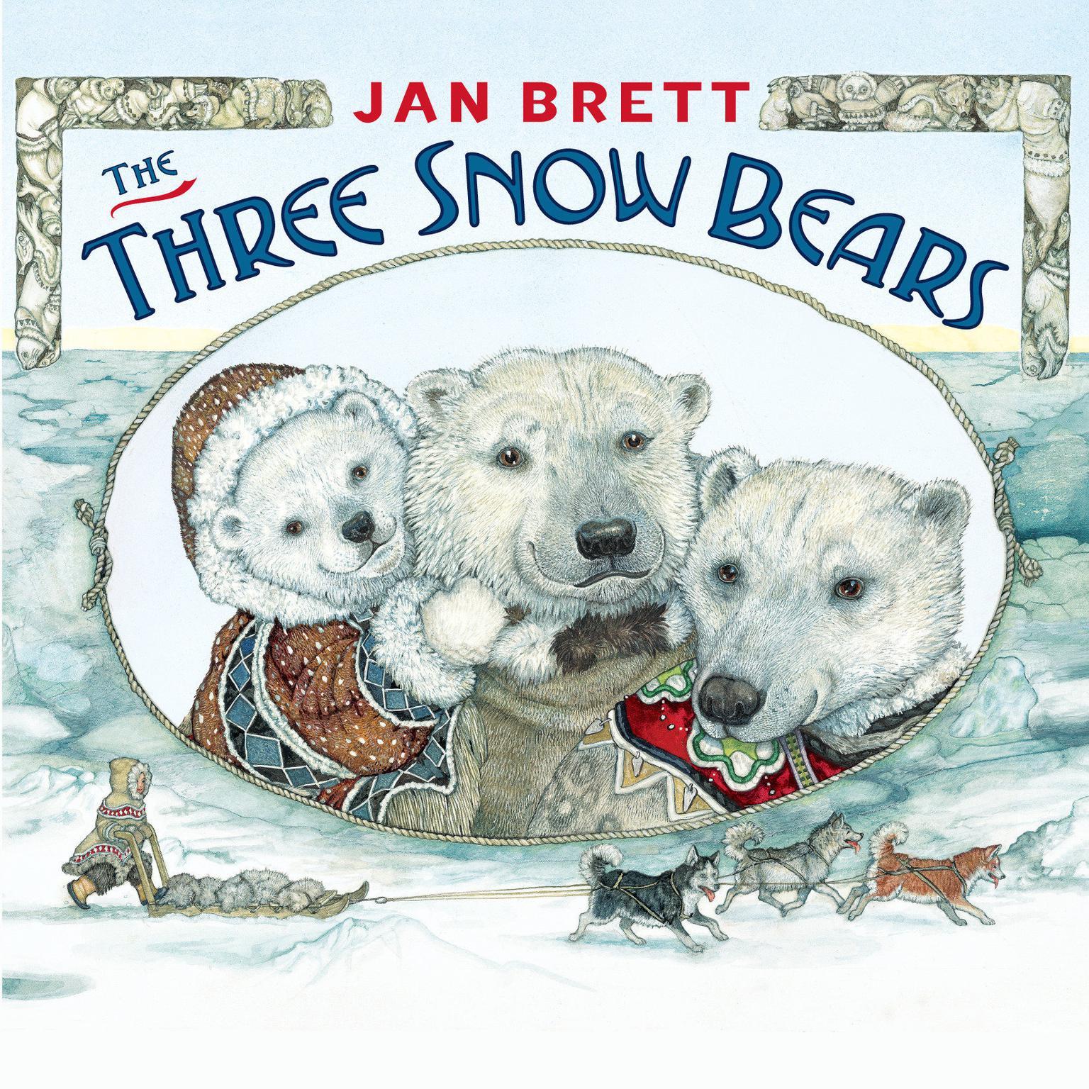 The Three Snow Bears Audiobook, by Jan Brett