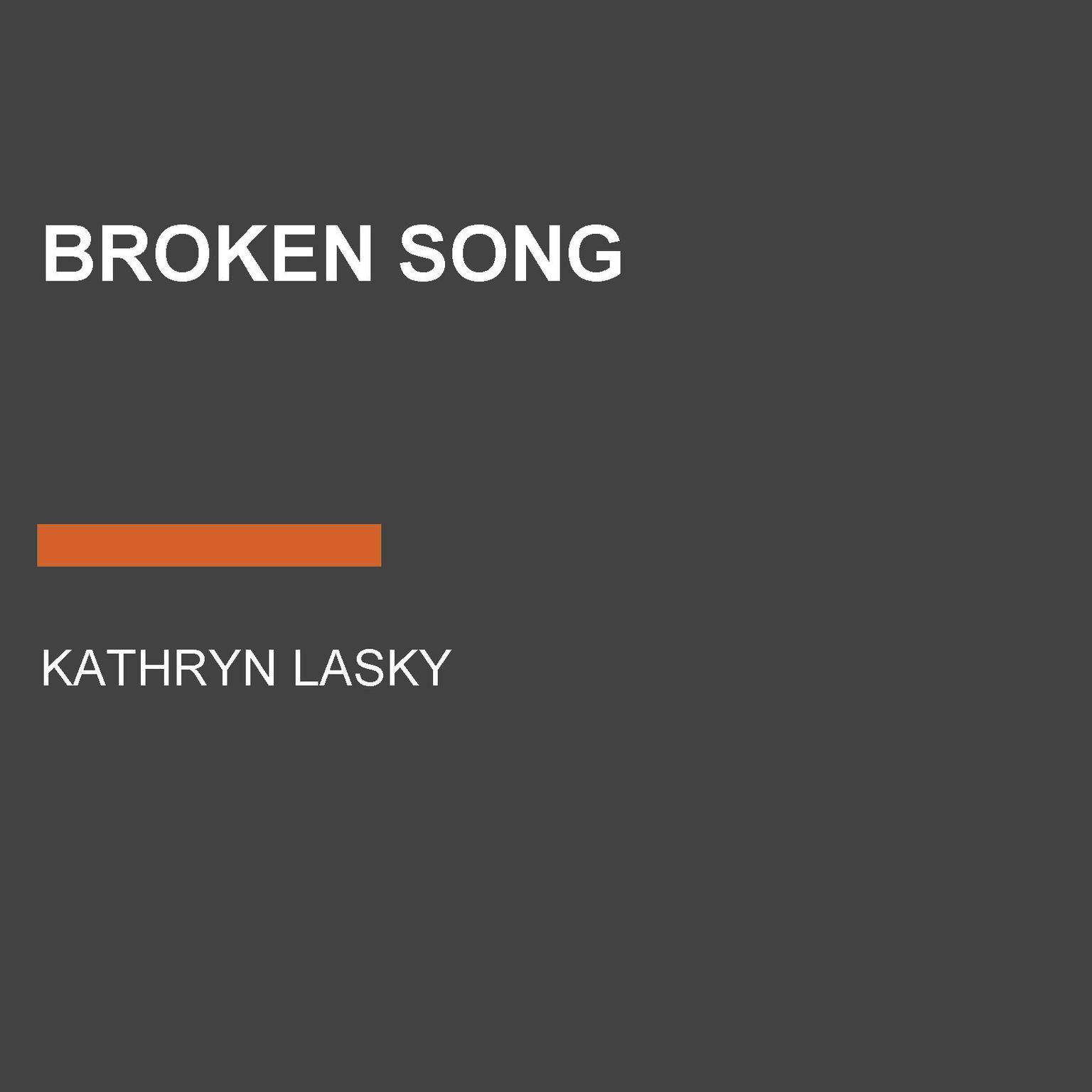 Printable Broken Song Audiobook Cover Art