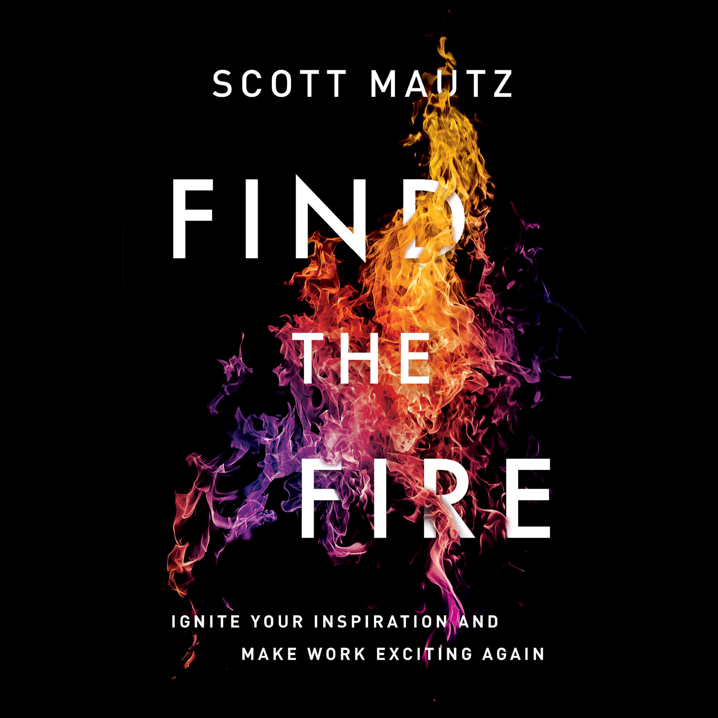 Printable Find the Fire: Ignite Your Inspiration--and Make Work Exciting Again Audiobook Cover Art