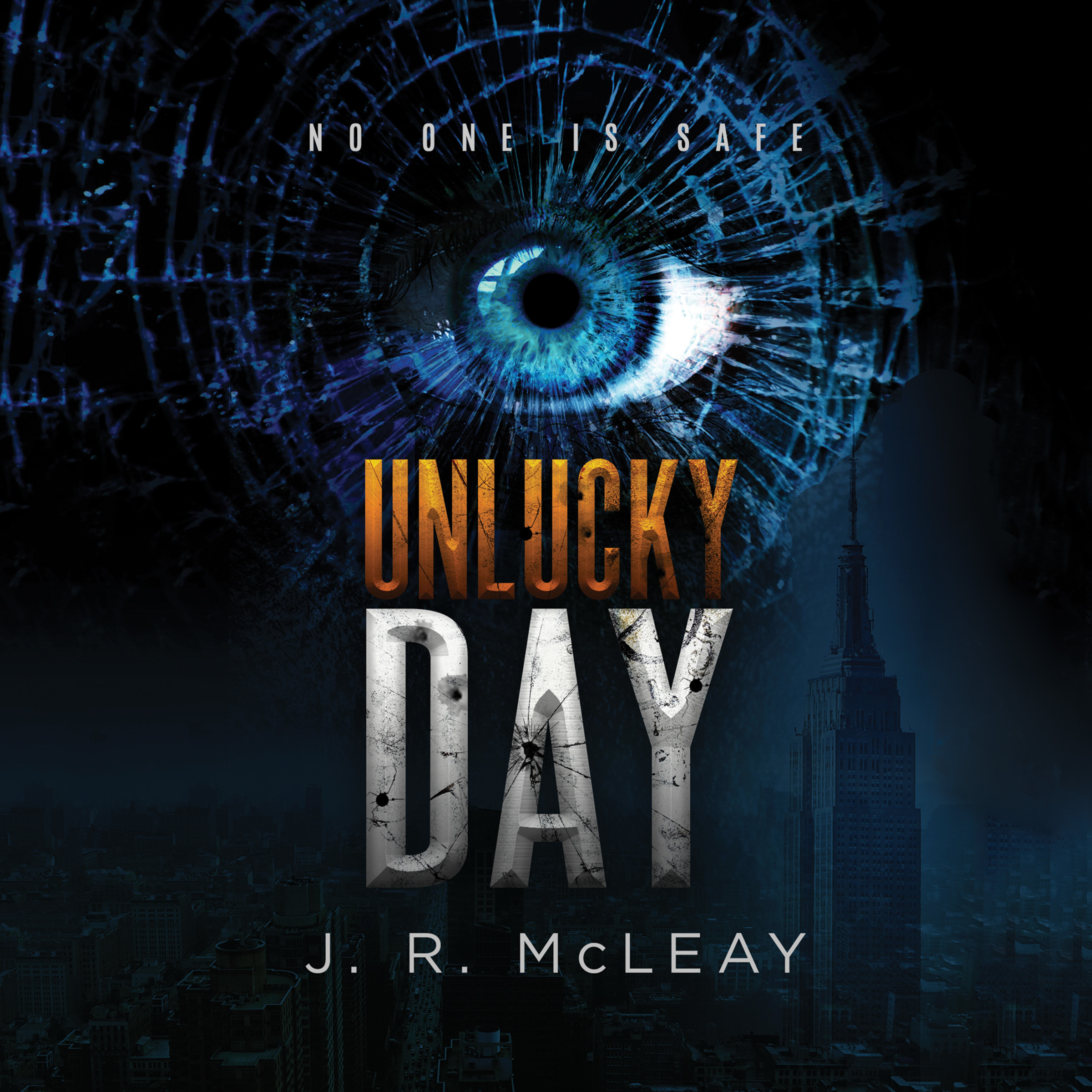 Printable Unlucky Day Audiobook Cover Art