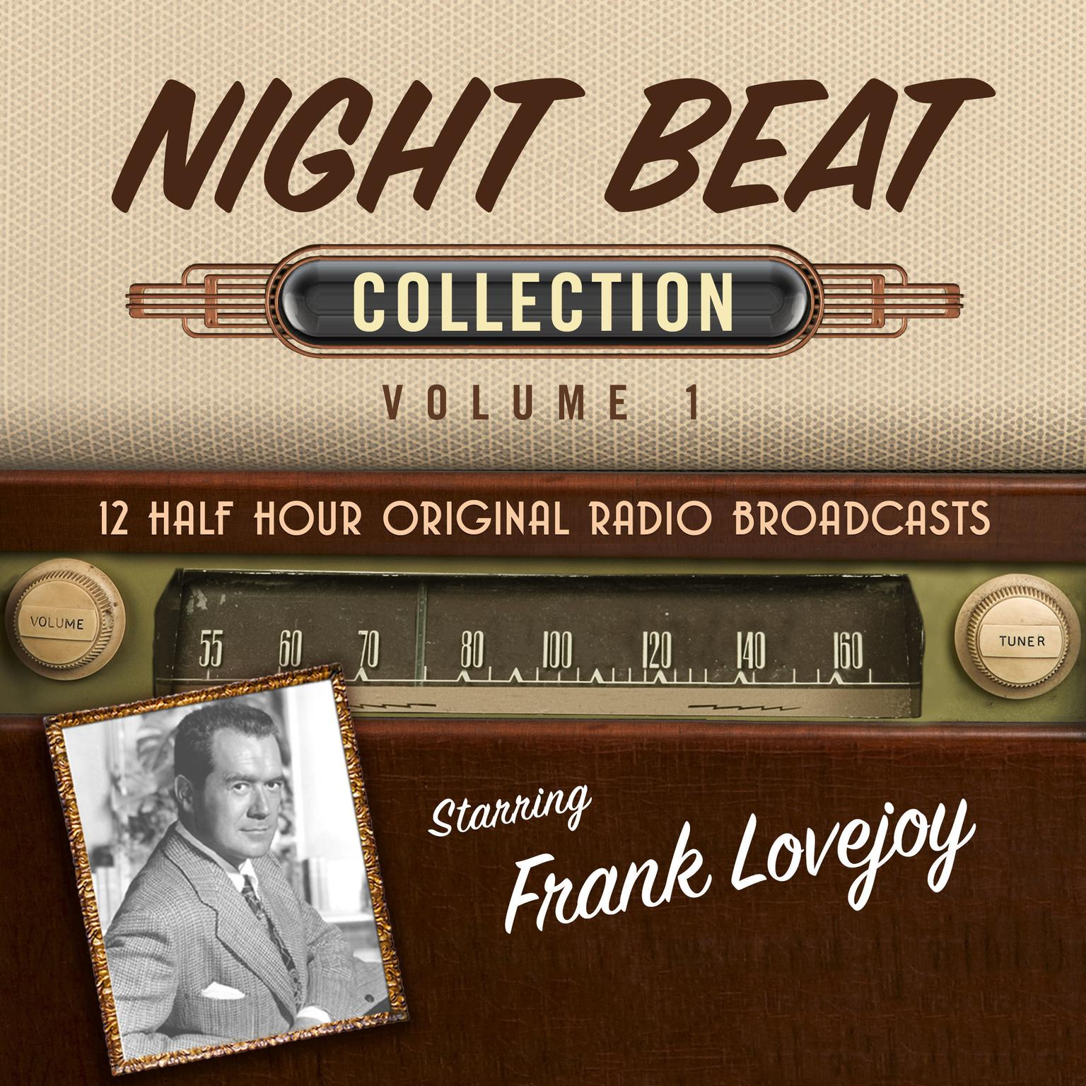 Printable Night Beat, Collection 1 Audiobook Cover Art