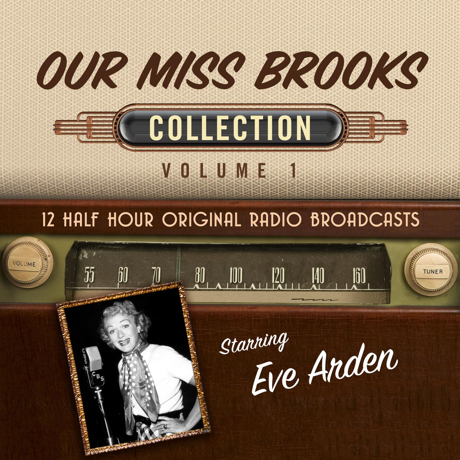 Printable Our Miss Brooks, Collection 1 Audiobook Cover Art