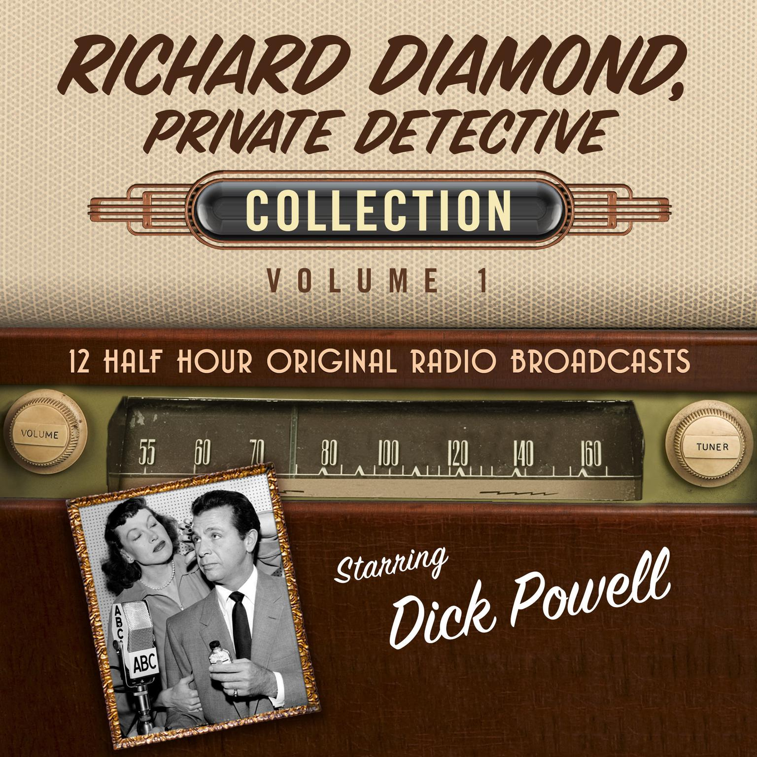 Printable Richard Diamond, Private Detective, Collection 1 Audiobook Cover Art