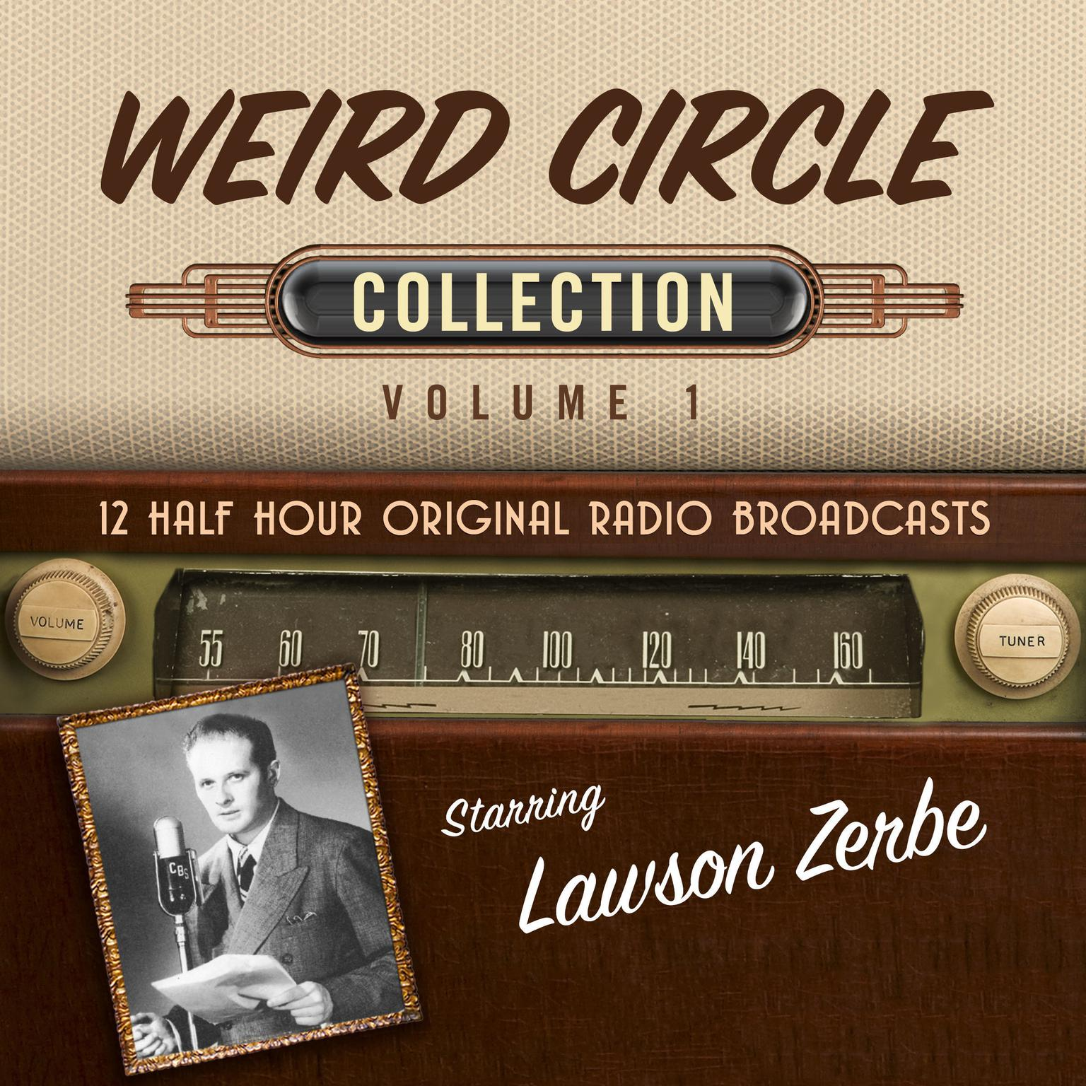 Printable The Weird Circle, Collection 1 Audiobook Cover Art