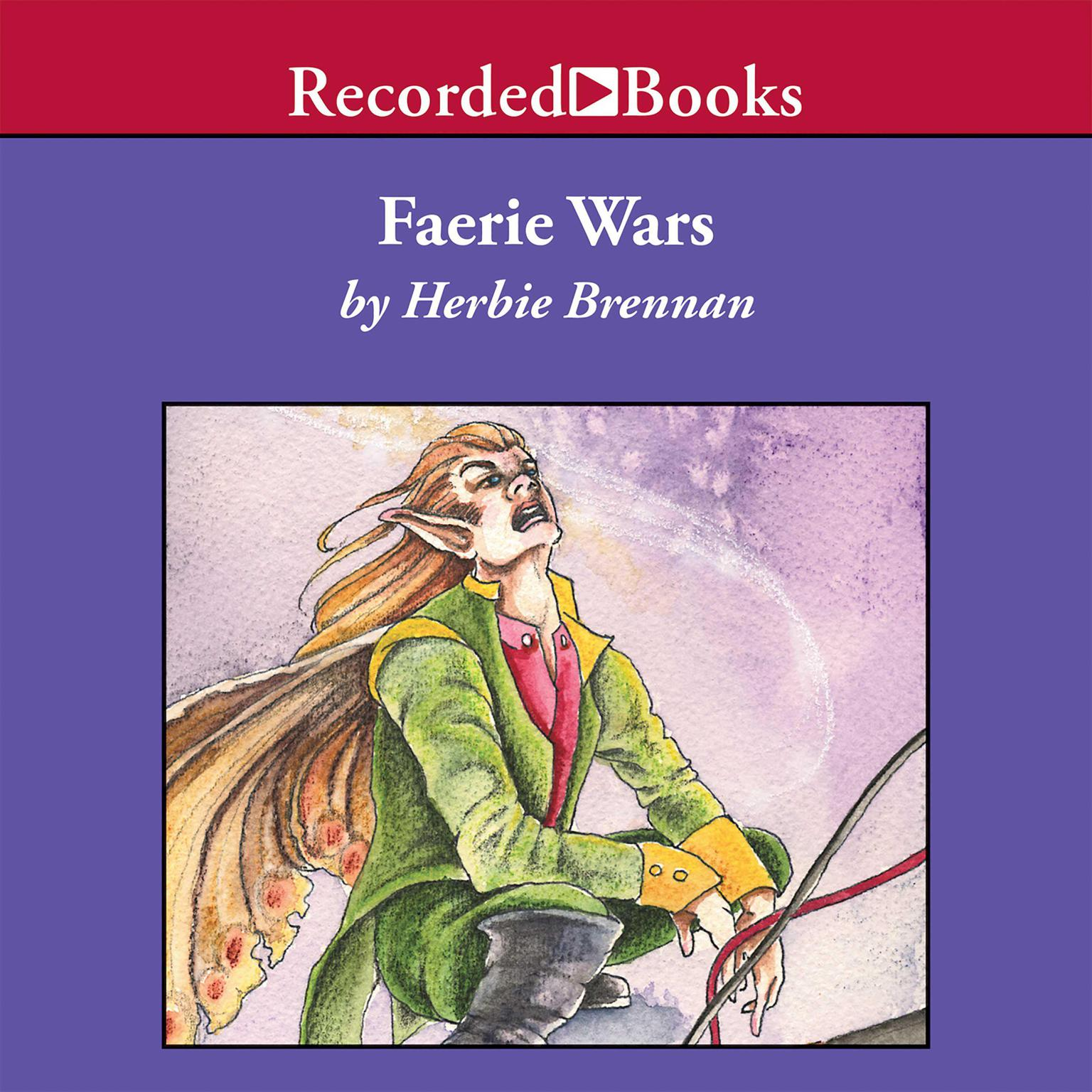 Printable Faerie Wars Audiobook Cover Art