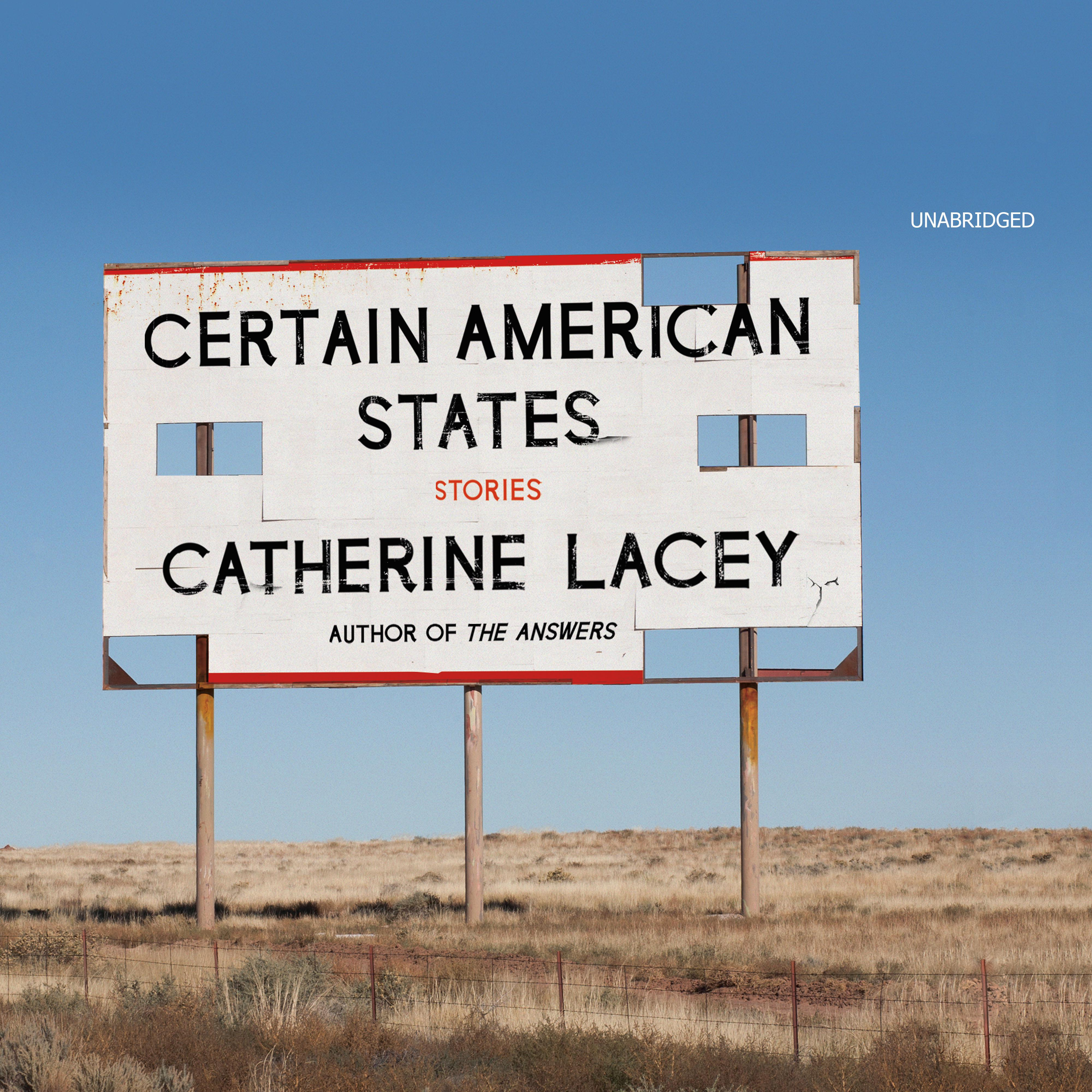 Printable Certain American States: Stories Audiobook Cover Art