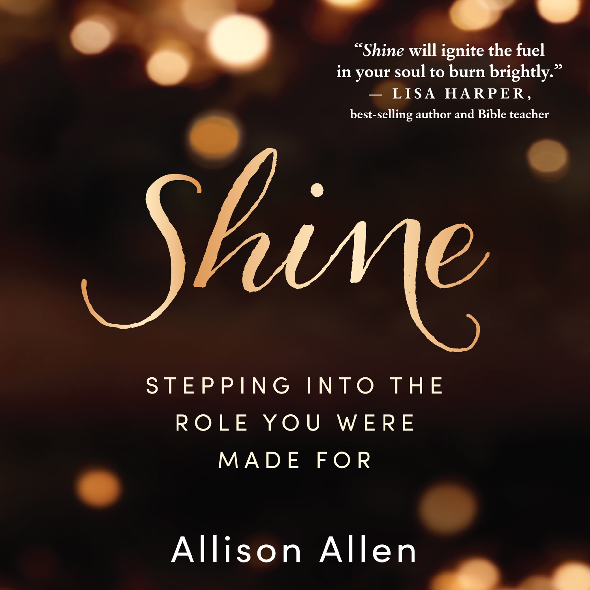 Printable Shine: Stepping Into the Role You Were Made For Audiobook Cover Art