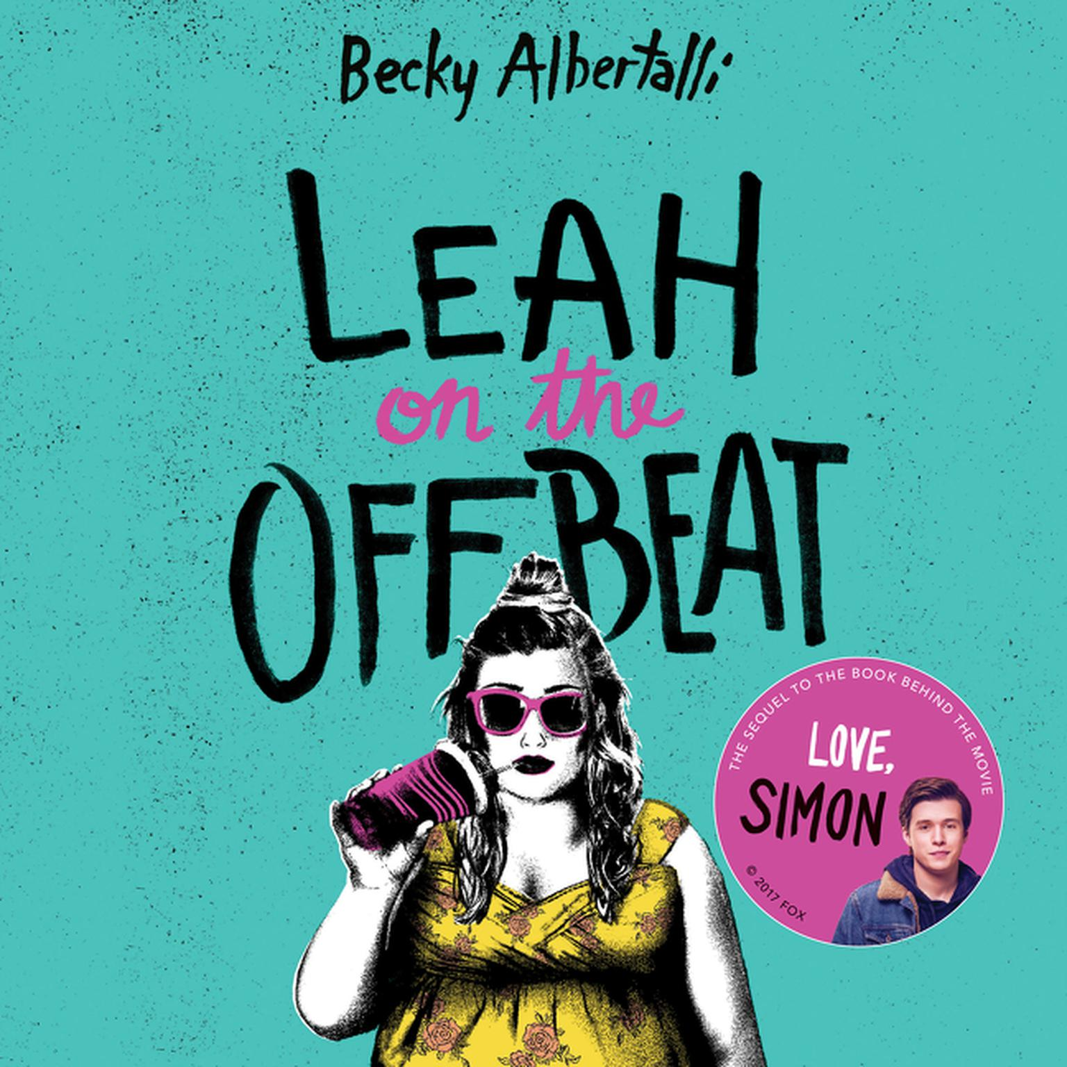 Printable Leah on the Offbeat Audiobook Cover Art