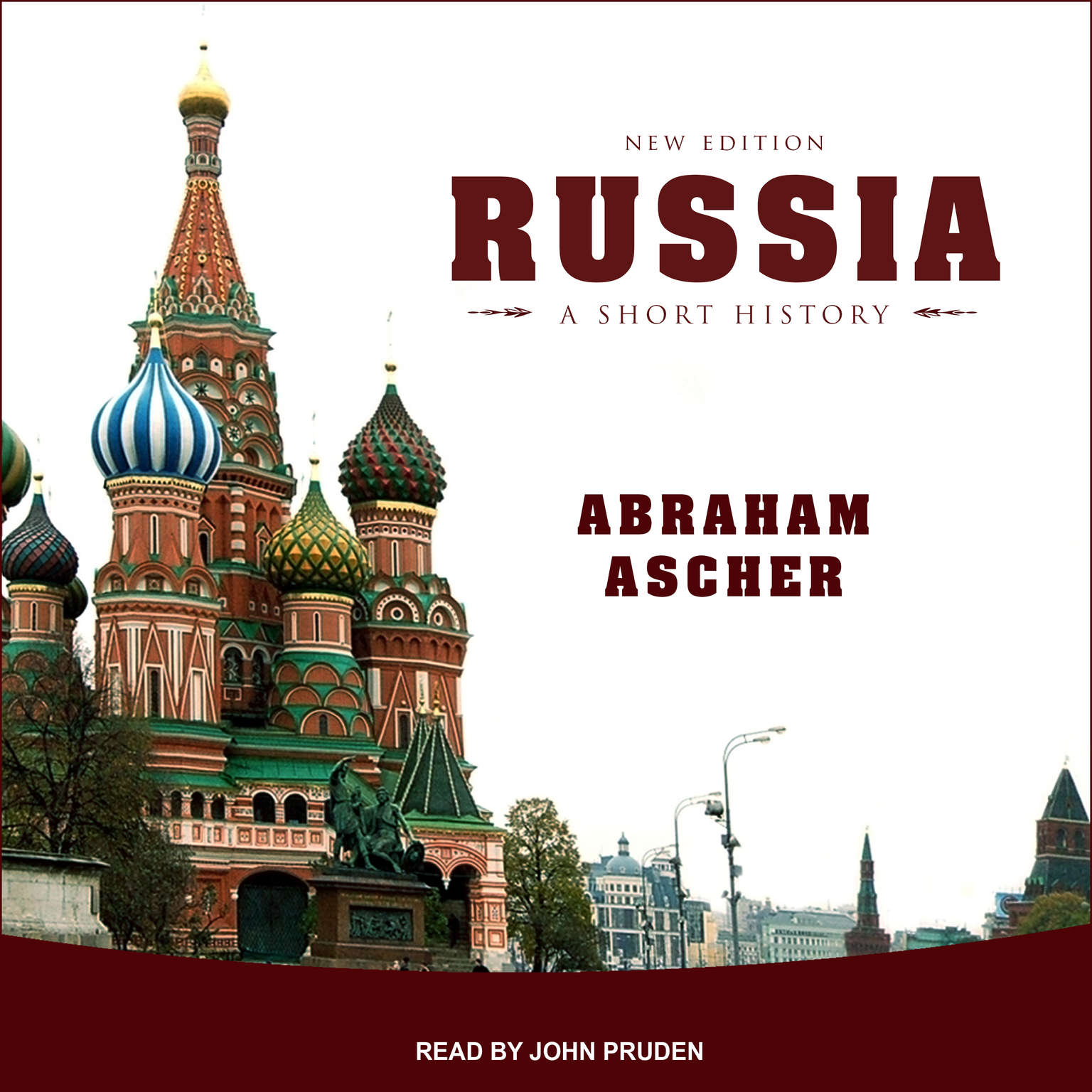 Printable Russia: A Short History Audiobook Cover Art