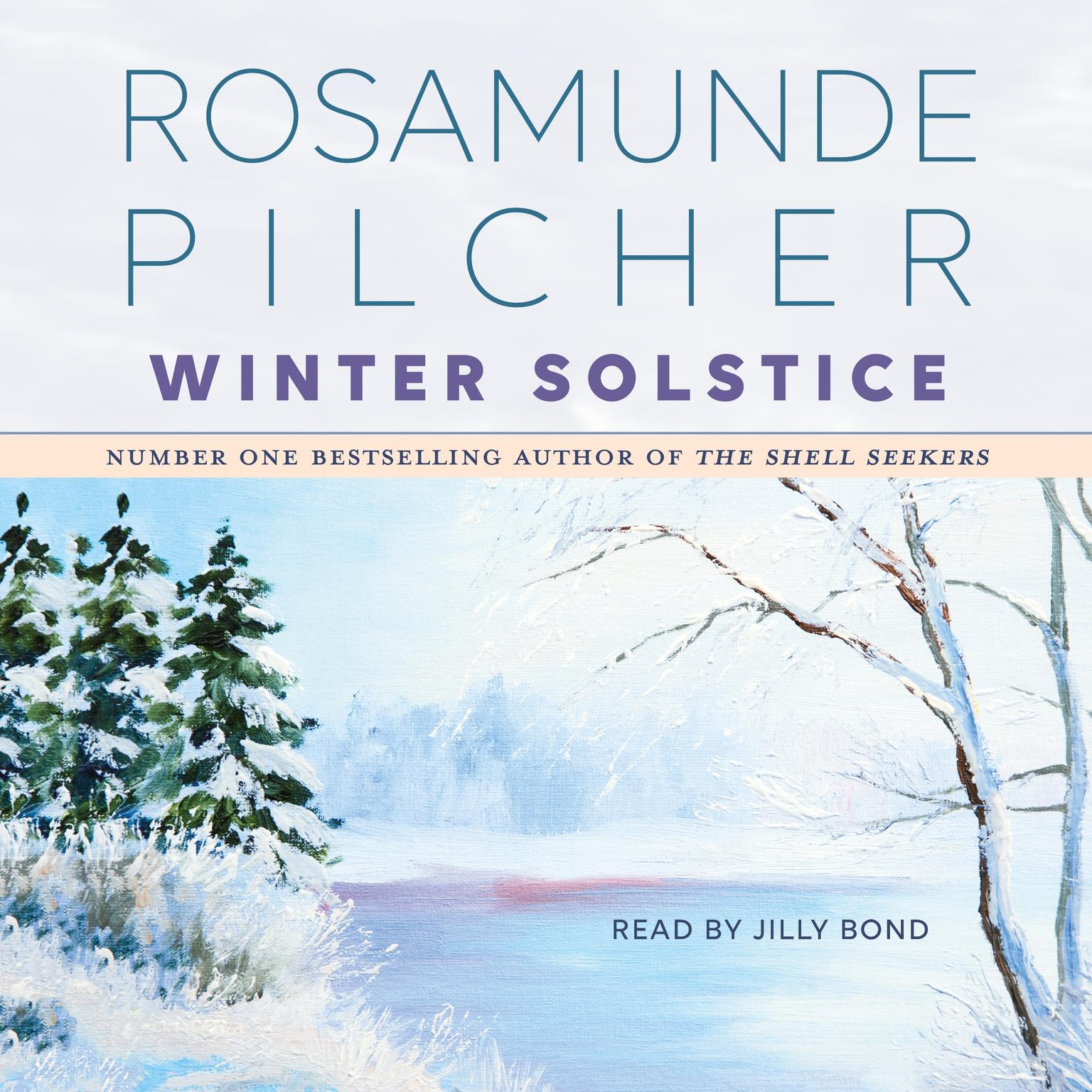 Printable Winter Solstice Audiobook Cover Art