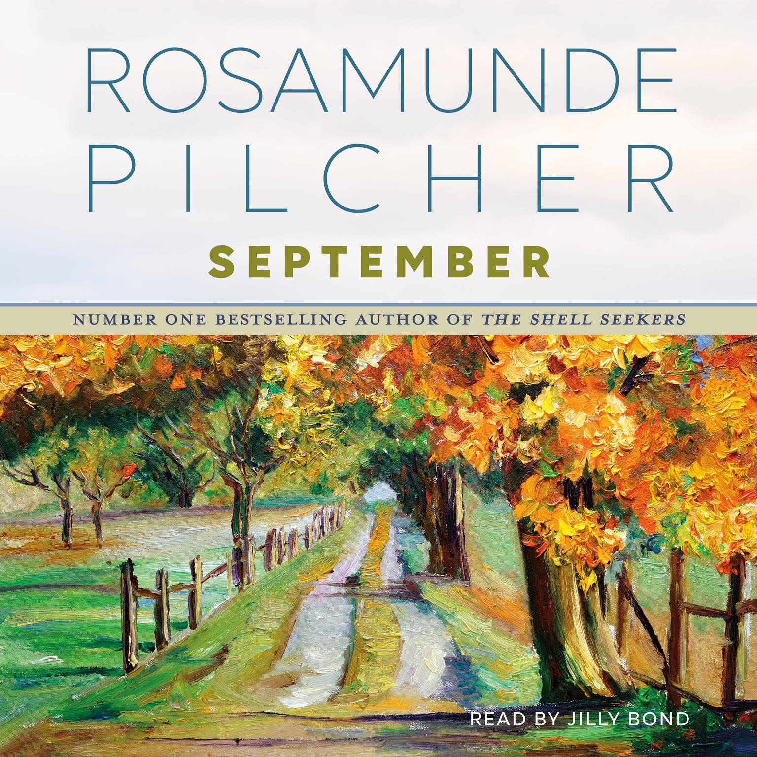 Printable September: A Novel Audiobook Cover Art