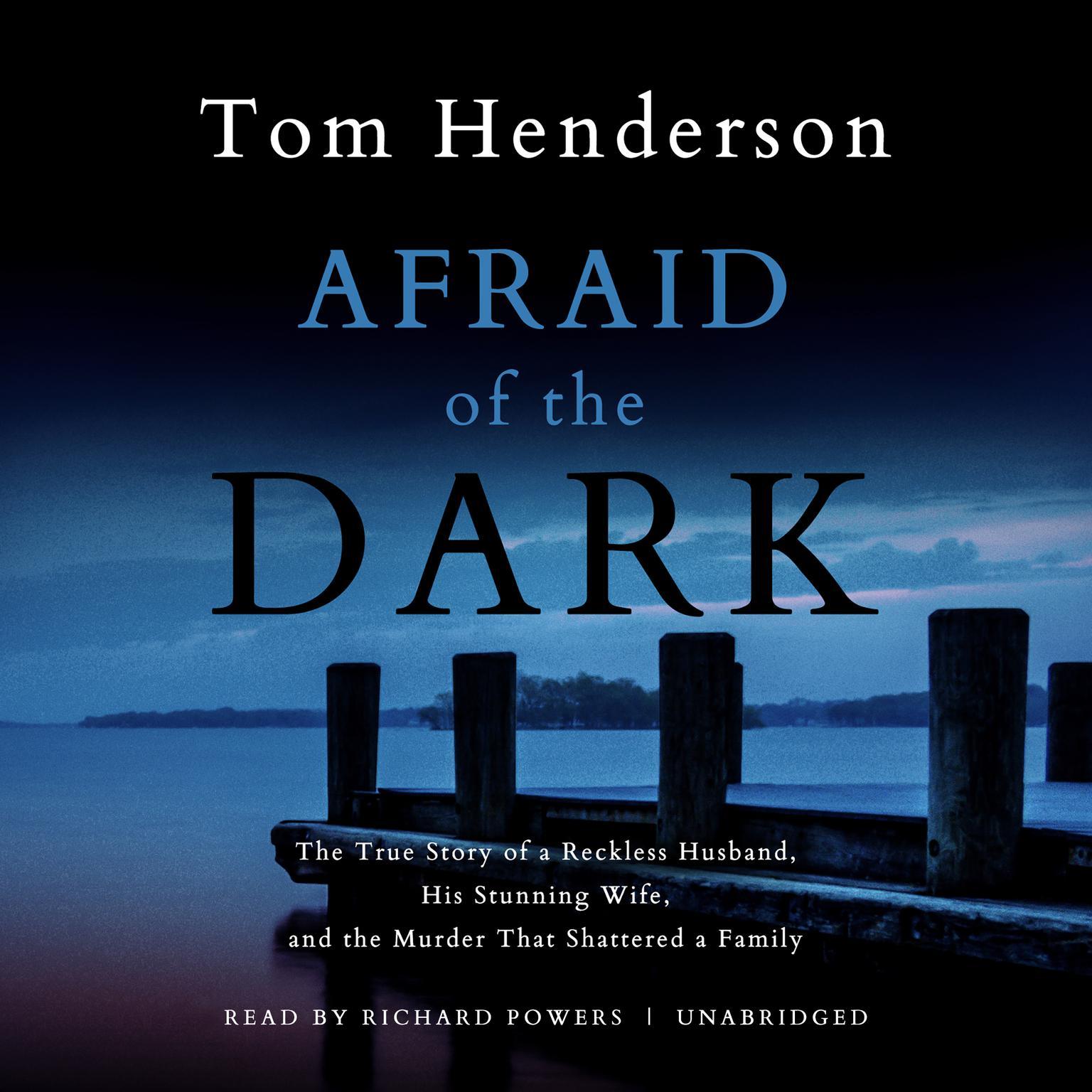 Printable Afraid of the Dark Audiobook Cover Art