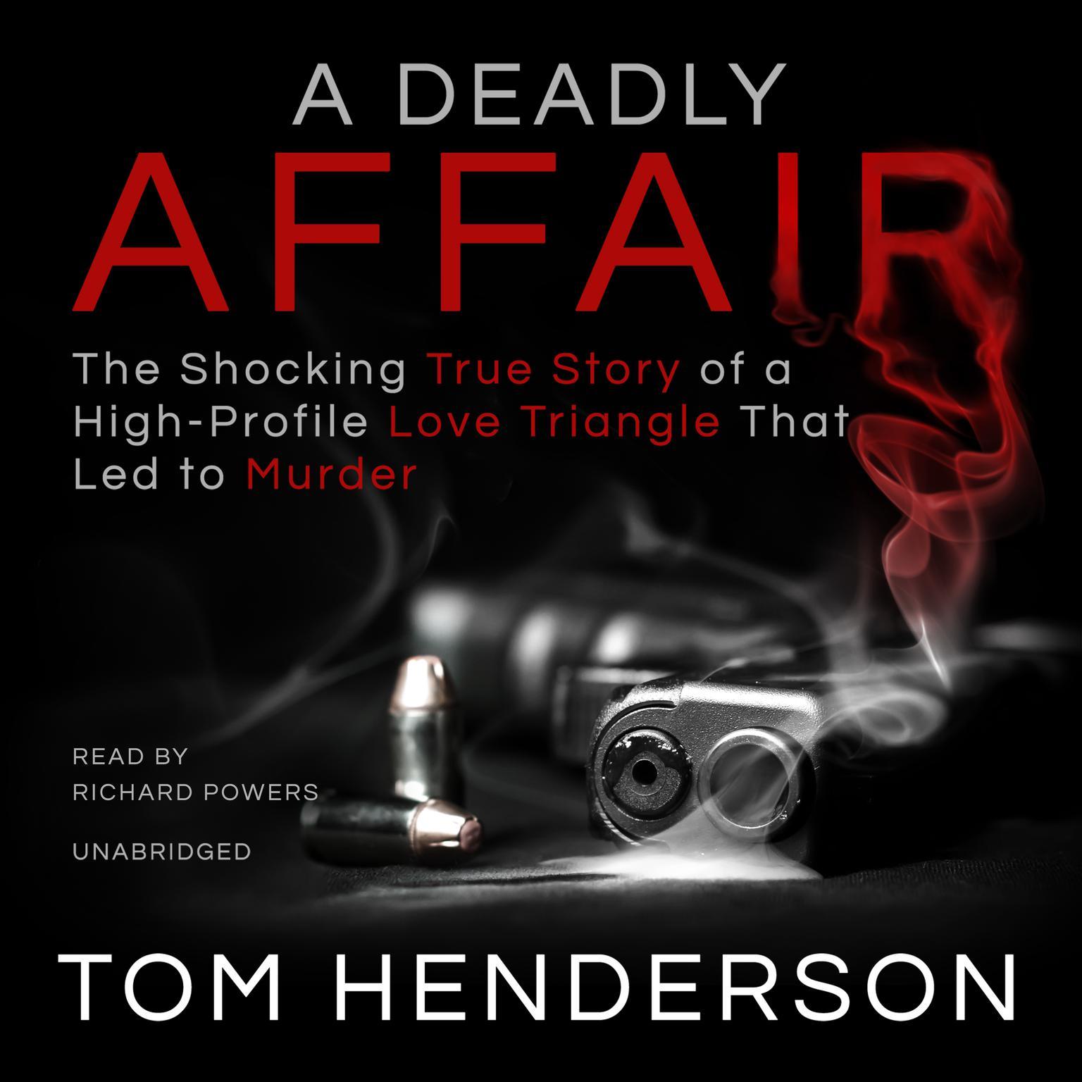 Printable A Deadly Affair Audiobook Cover Art