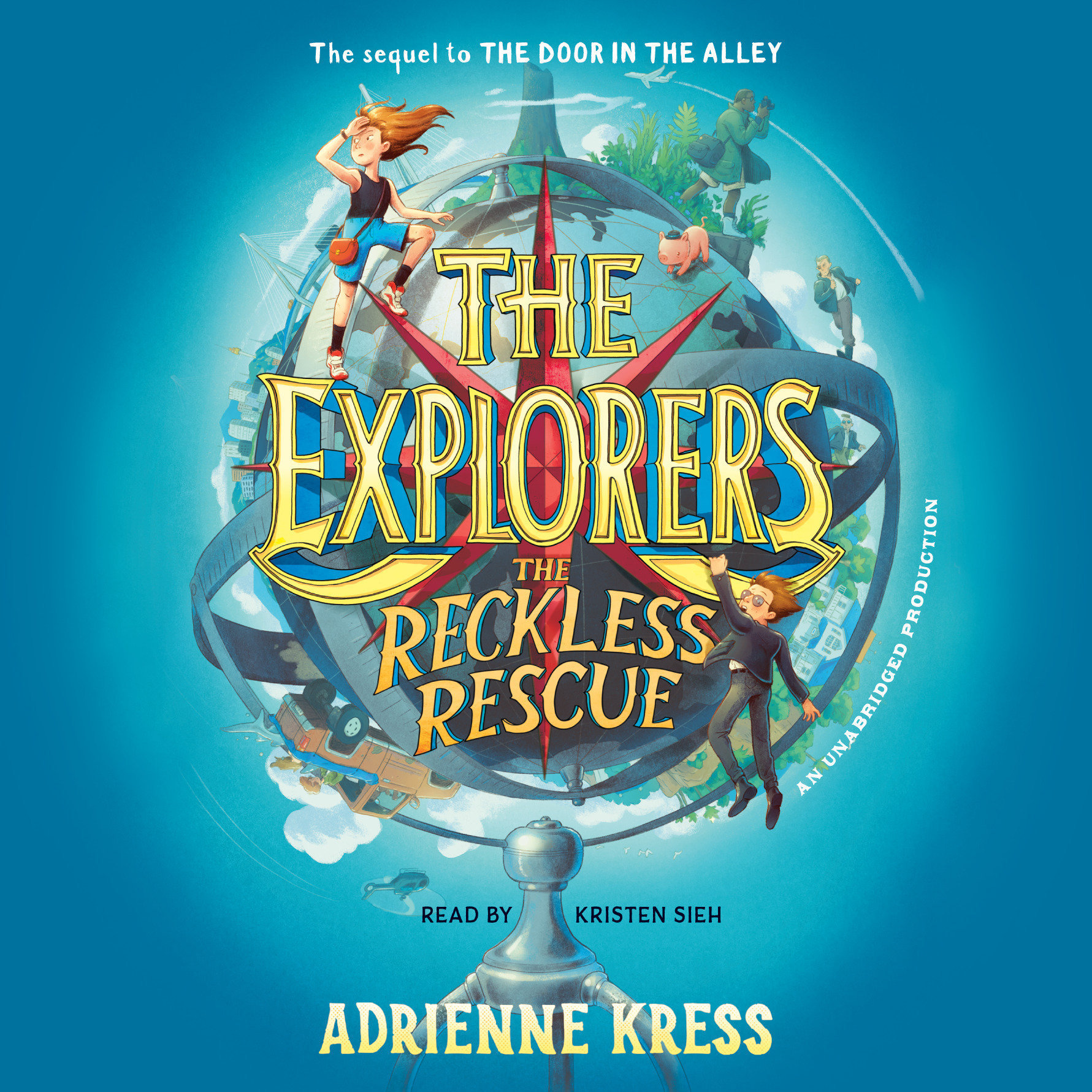Printable The Explorers: The Reckless Rescue Audiobook Cover Art