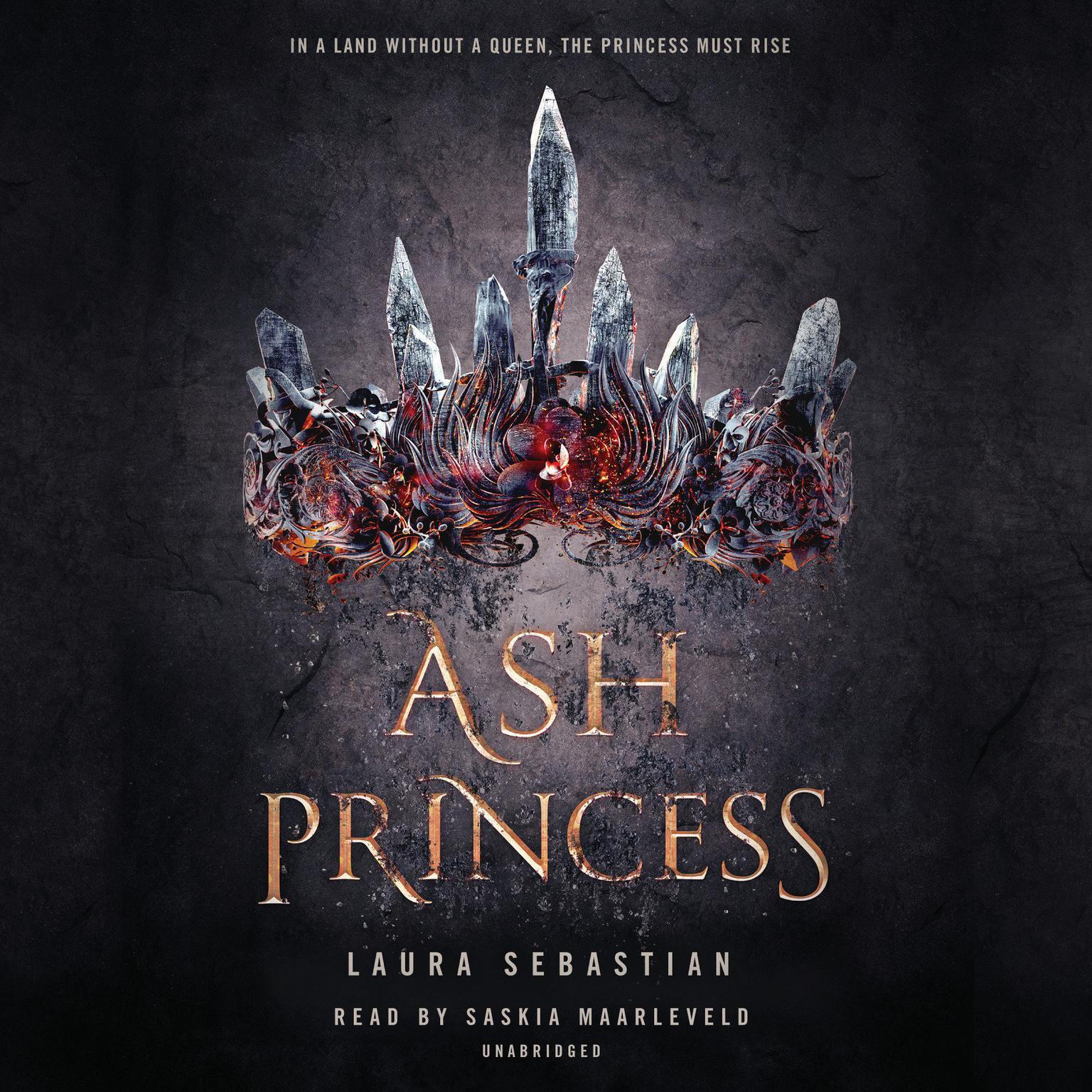 Printable Ash Princess Audiobook Cover Art