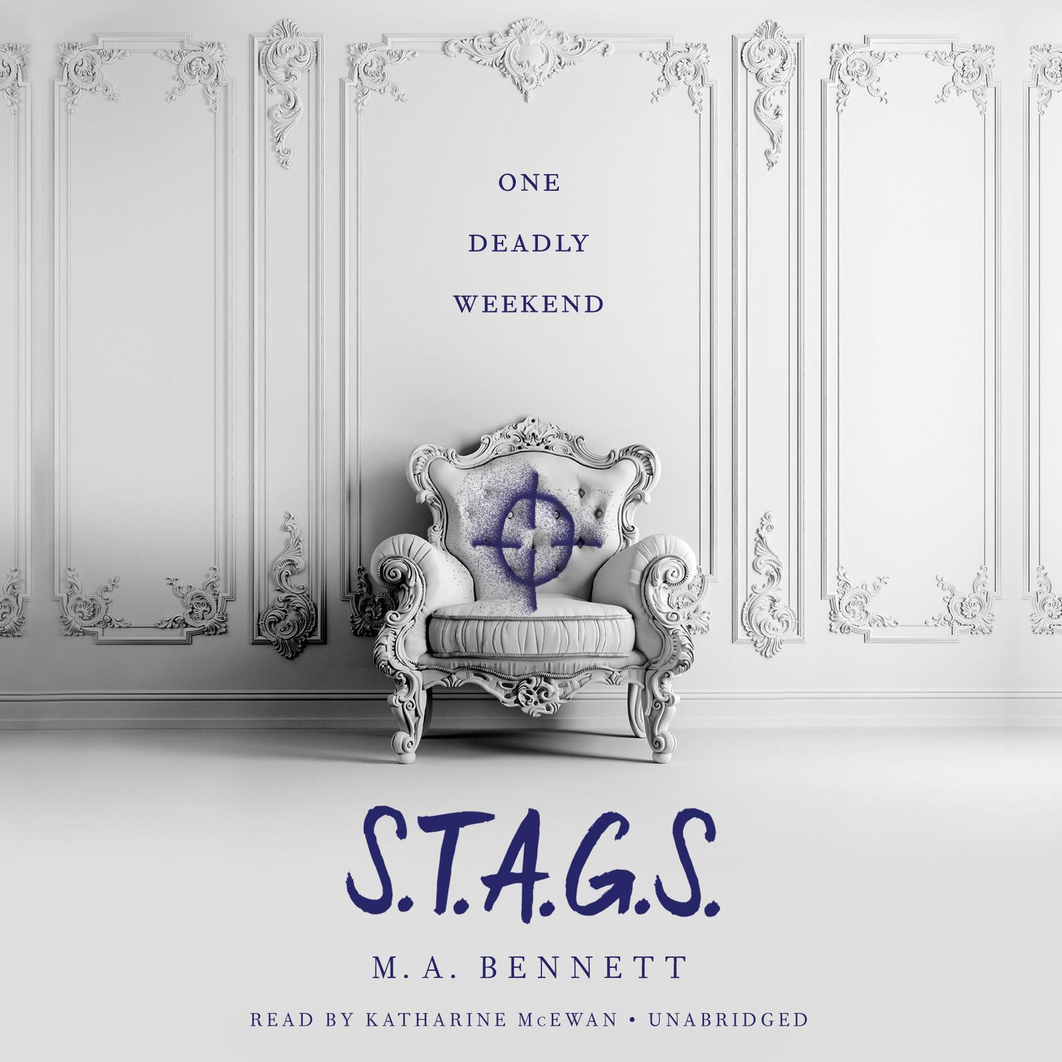 Printable S.T.A.G.S. Audiobook Cover Art