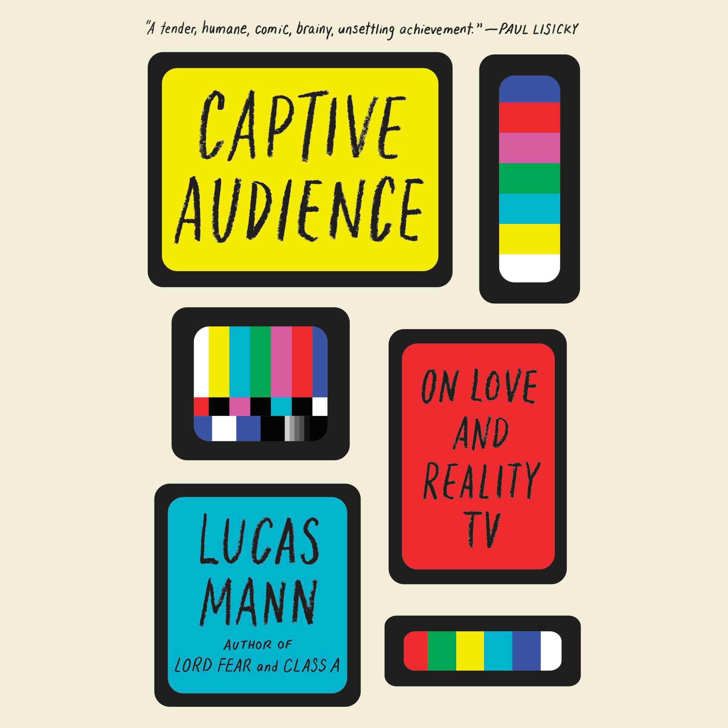 Printable Captive Audience: On Love and Reality TV Audiobook Cover Art