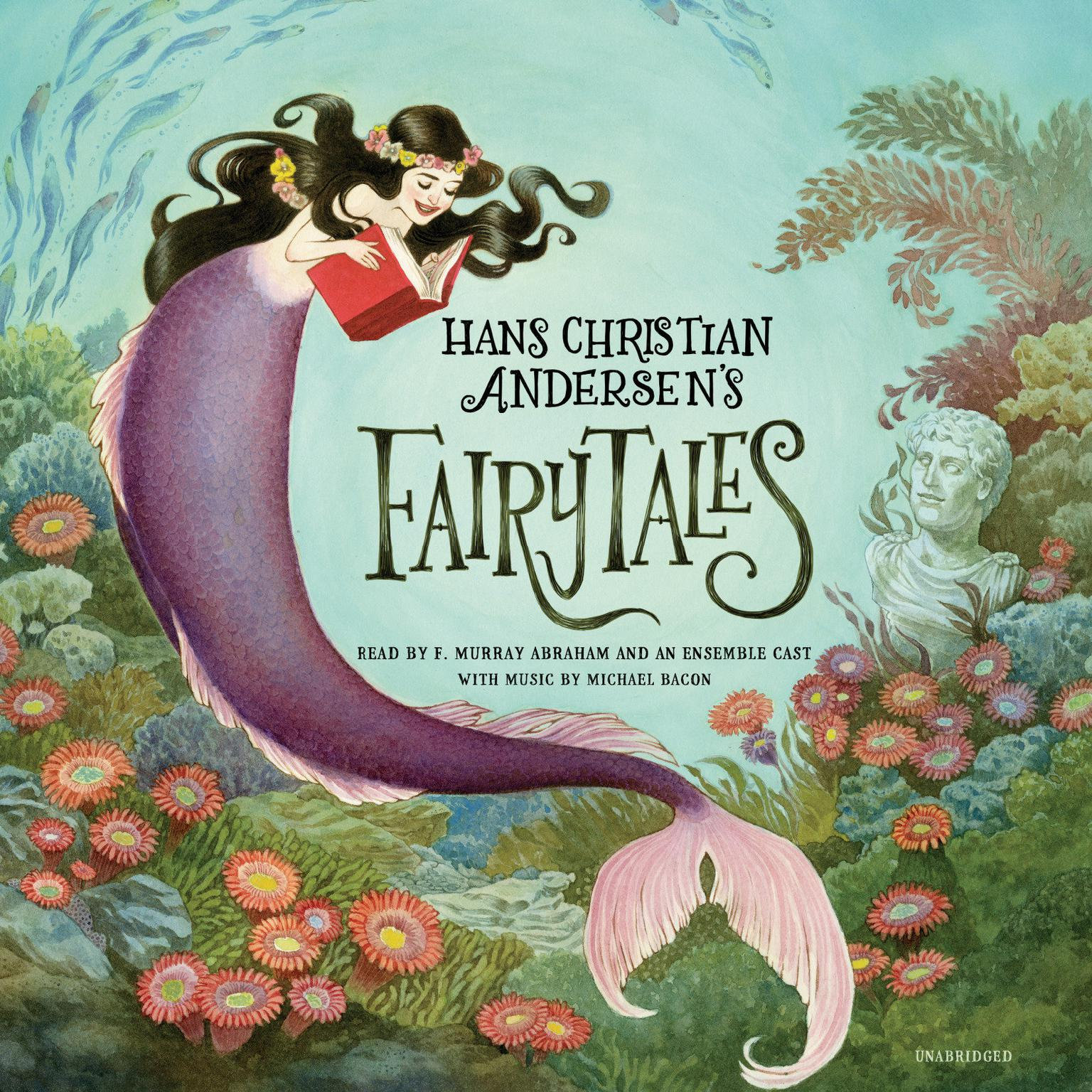 Printable Hans Christian Andersen's Fairy Tales Audiobook Cover Art