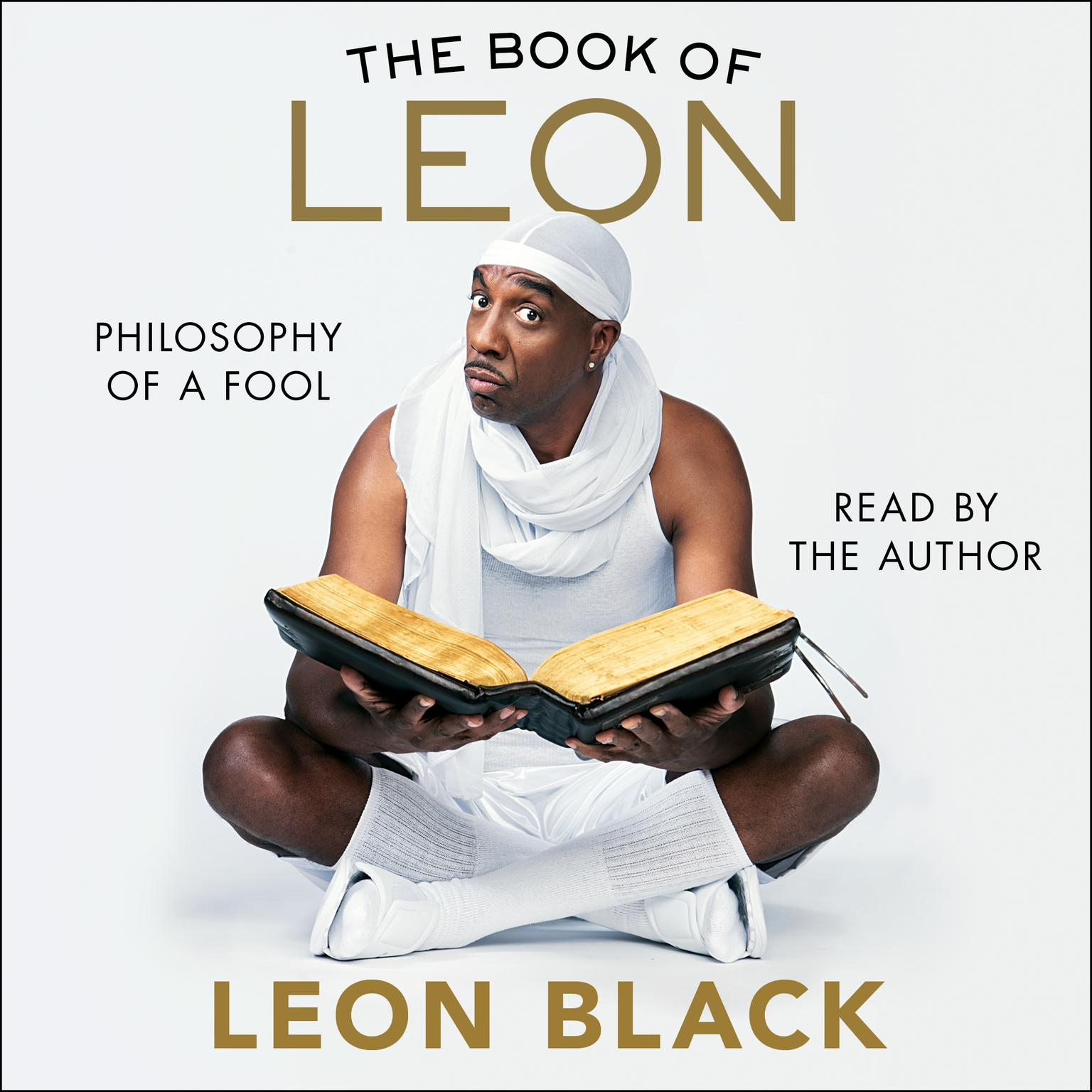 Printable The Book of Leon: Philosophy of a Fool Audiobook Cover Art