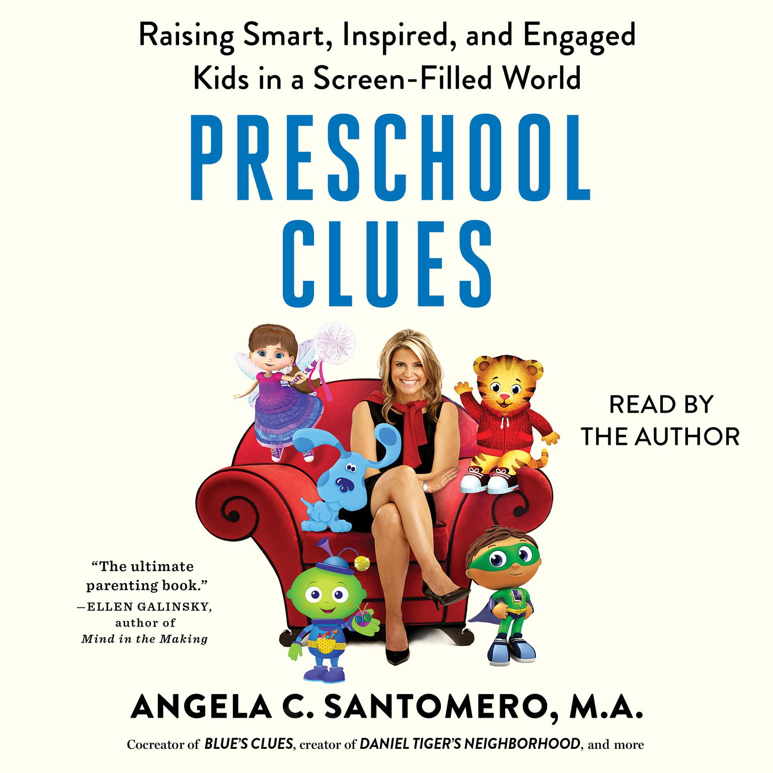 Printable Preschool Clues: Raising Smart, Inspired, and Engaged Kids in a Screen-Filled World Audiobook Cover Art