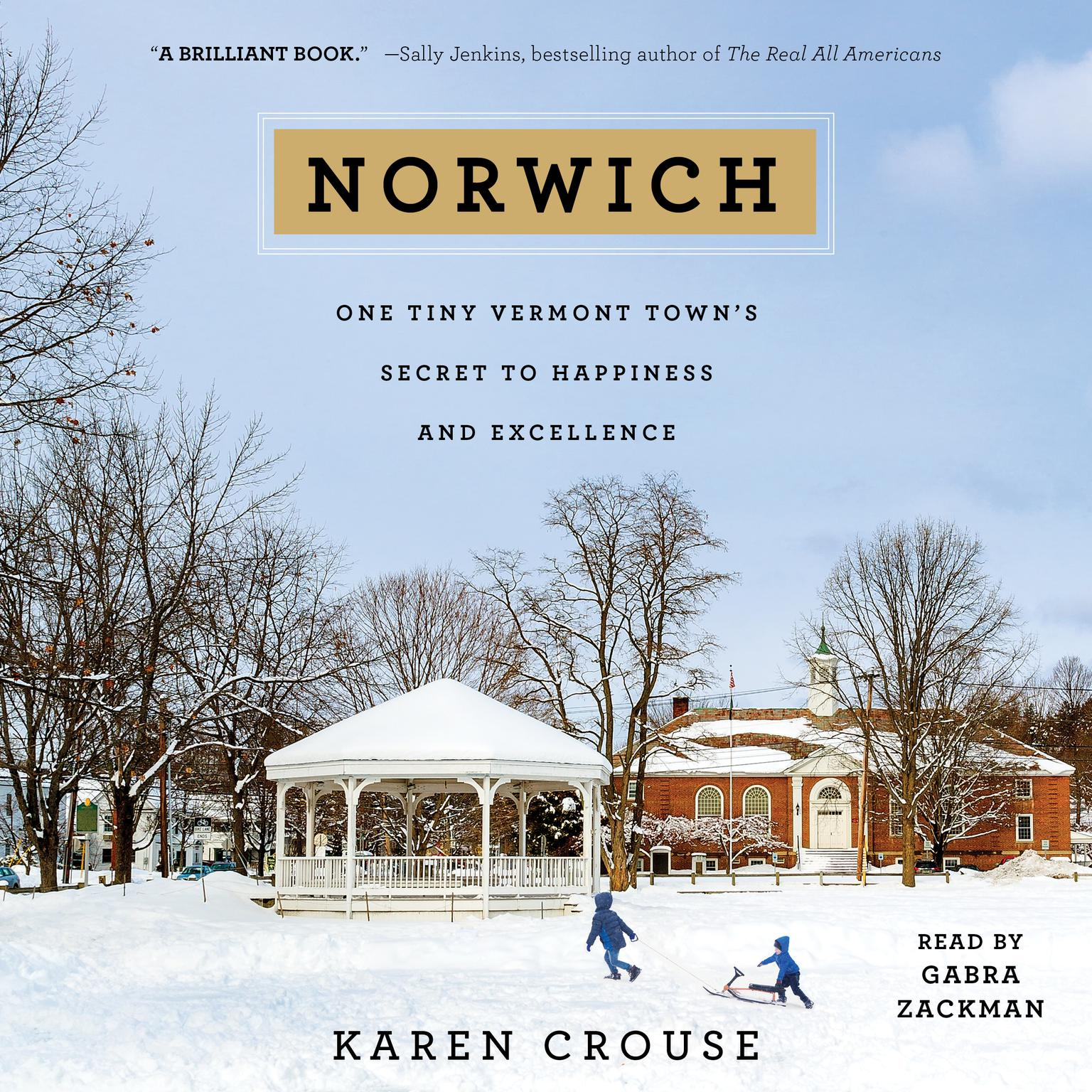Printable Norwich: One Tiny Vermont Town's Secret to Happiness and Excellence Audiobook Cover Art