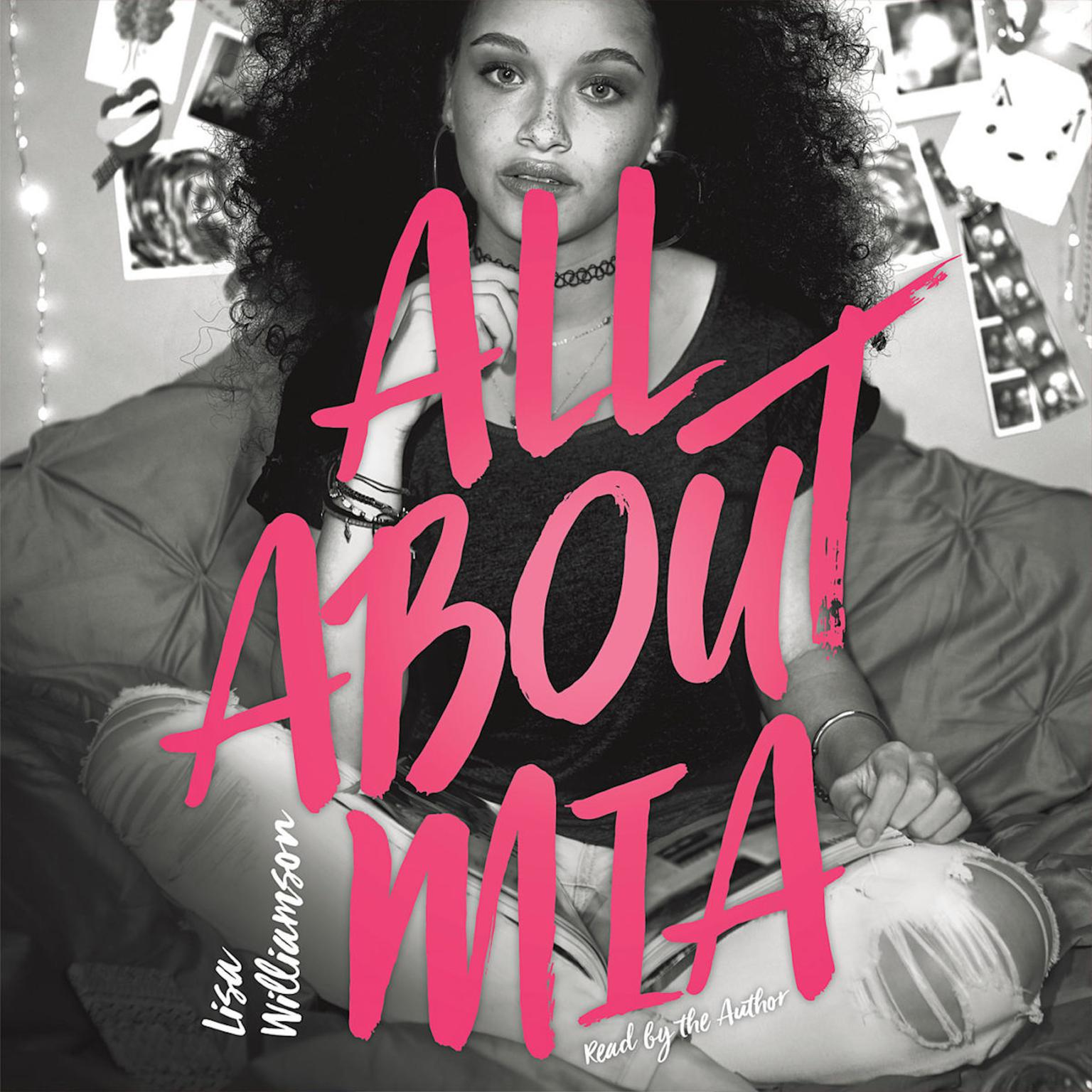 Printable All About Mia Audiobook Cover Art
